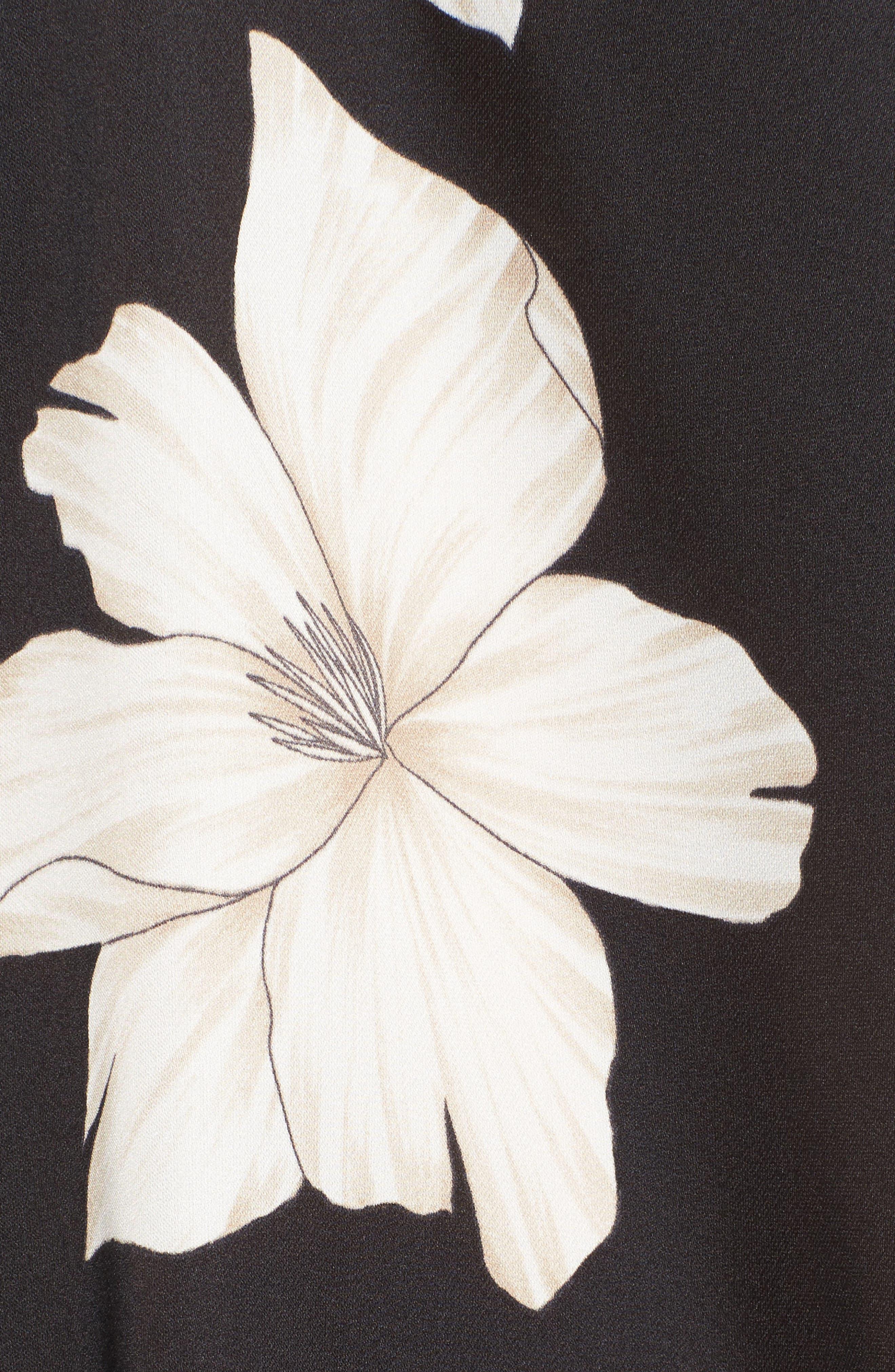 Joni Minidress,                             Alternate thumbnail 5, color,                             La Leche Bloom