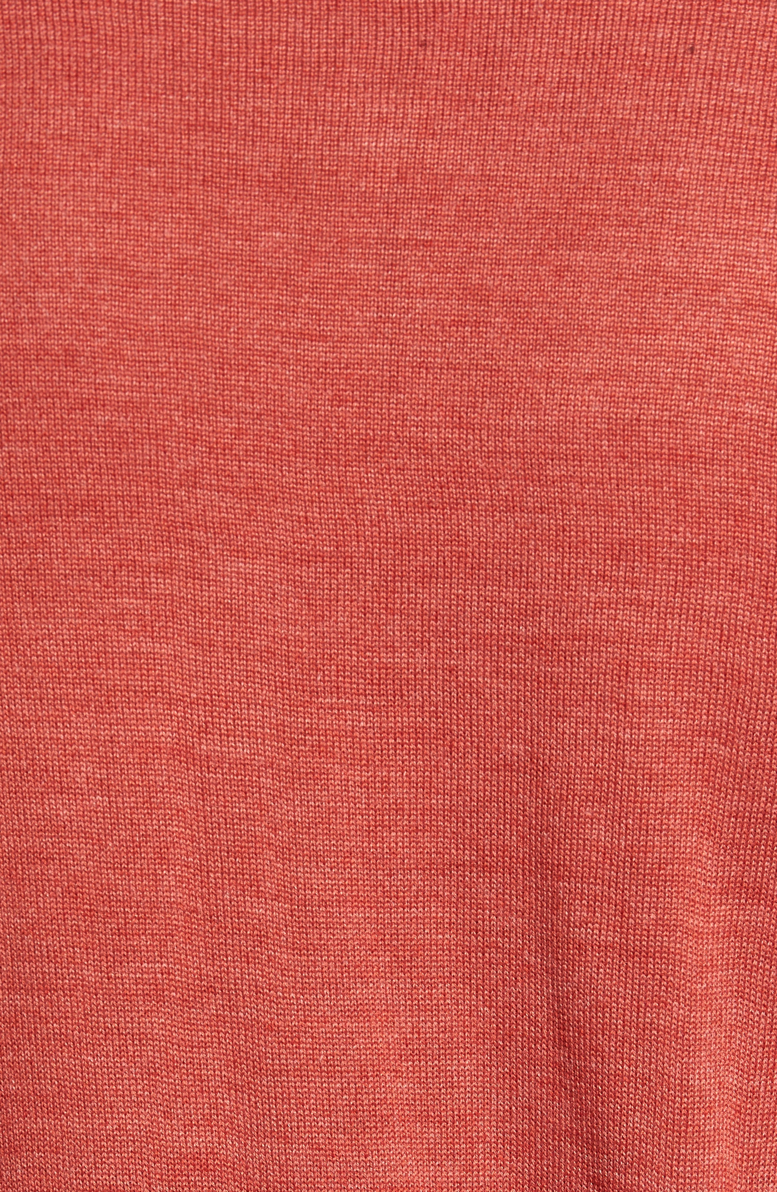 Alternate Image 5  - Cutter & Buck 'Douglas' Merino Wool Blend V-Neck Sweater (Online Only)