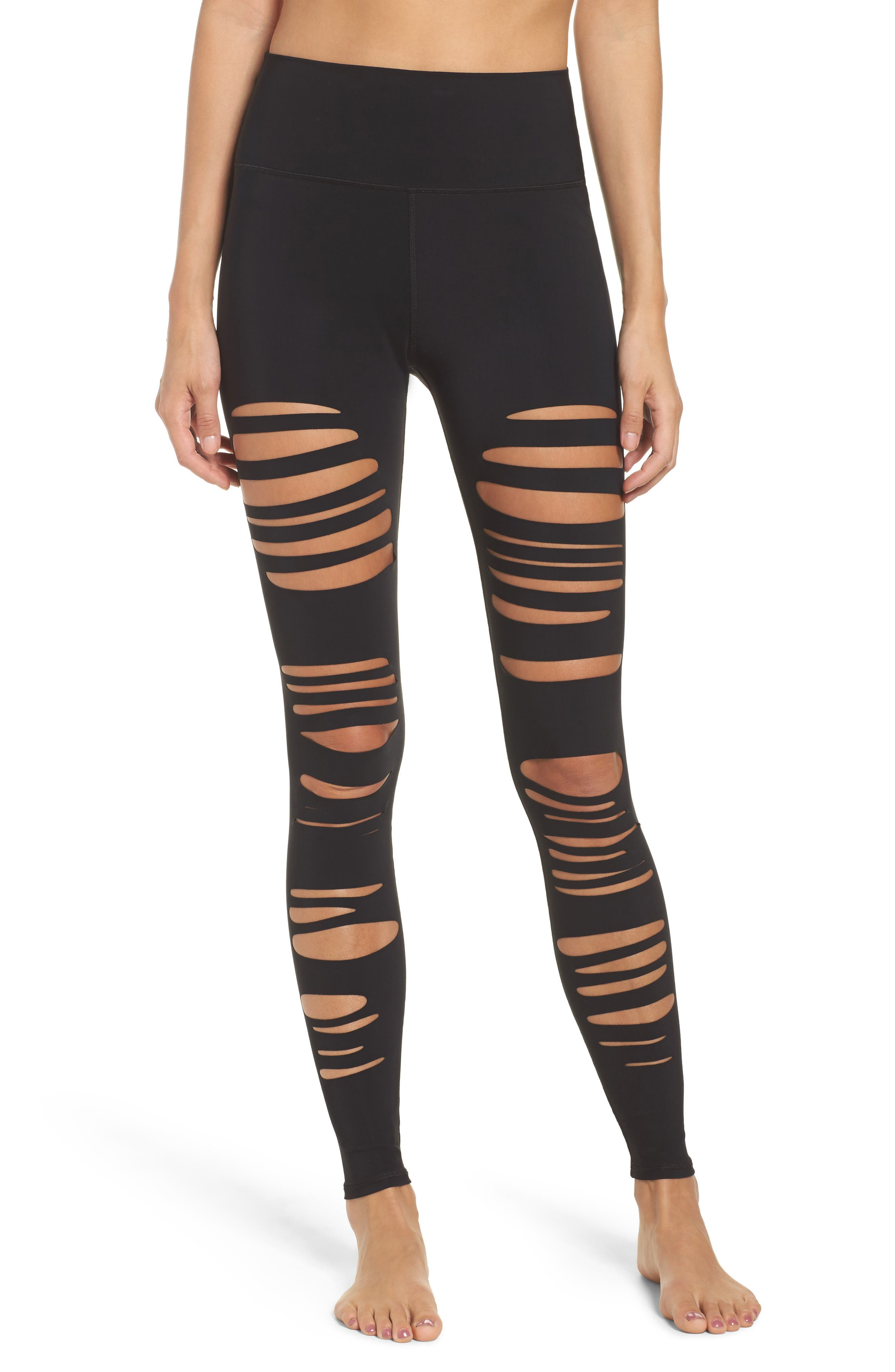 Alo Extreme Ripped Warrior High Waist Leggings
