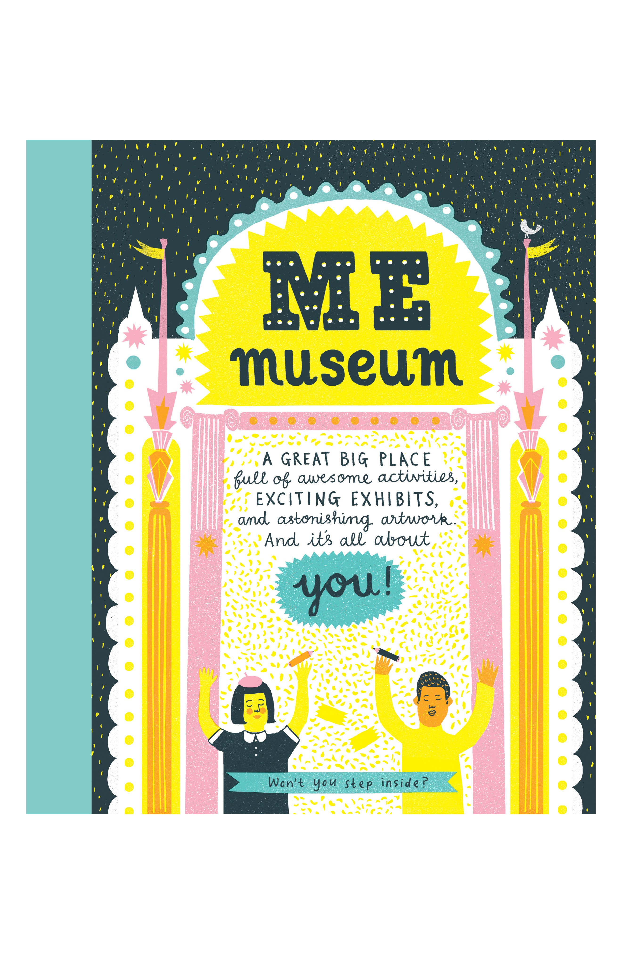 'Me Museum' - An Activity Book,                             Main thumbnail 1, color,                             Yellow