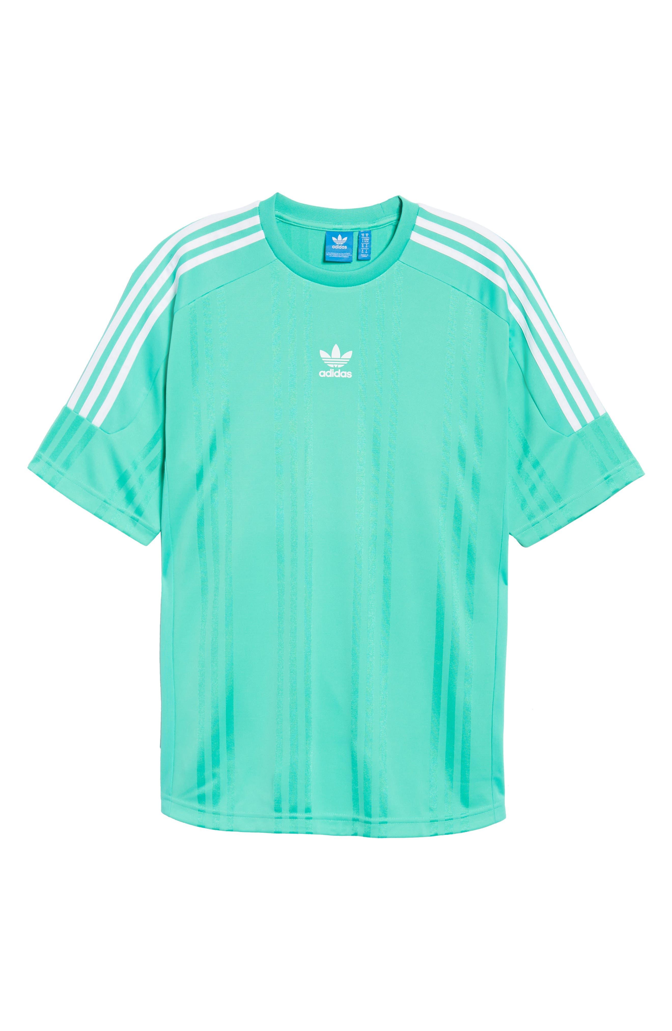 Alternate Image 6  - adidas Originals Jacquard Stripe T-Shirt