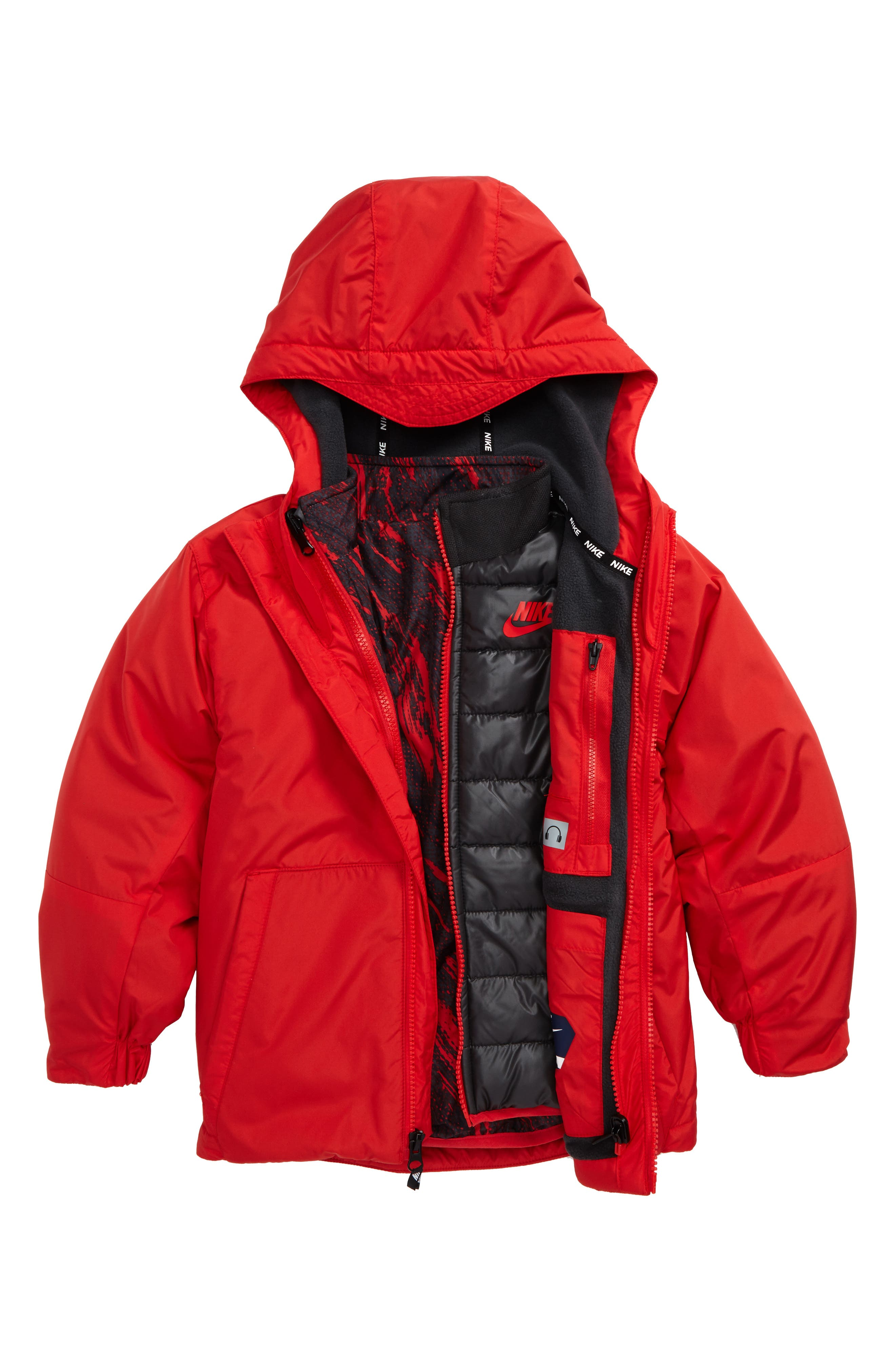 Systems 3-in-1 Jacket,                         Main,                         color, University Red