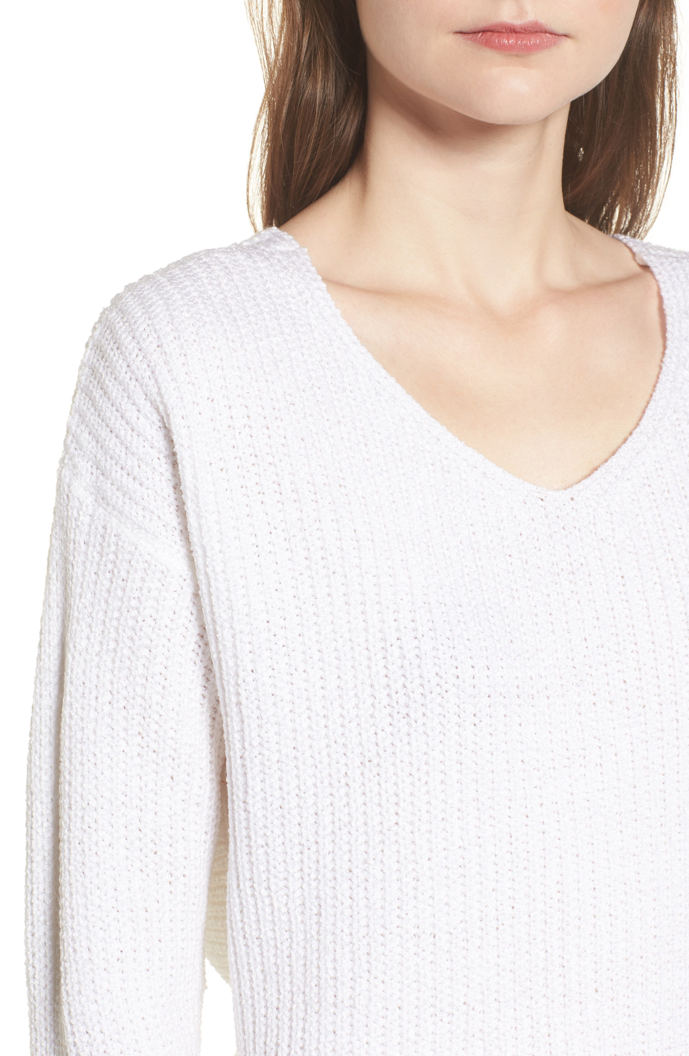 Alternate Image 4  - ASTR the Label Twist Back Sweater