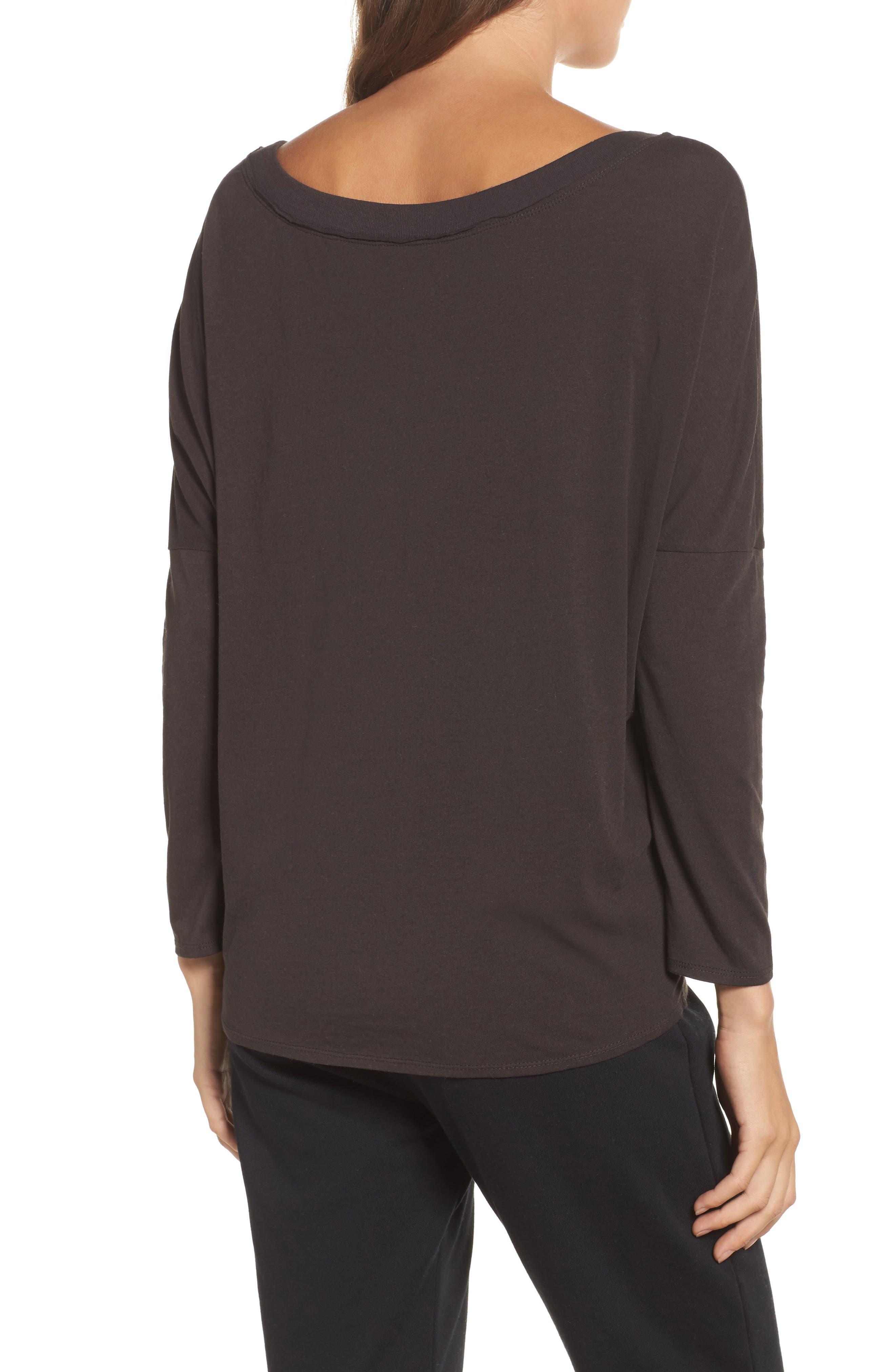 Vintage Jersey Sweatshirt,                             Alternate thumbnail 2, color,                             Union Black