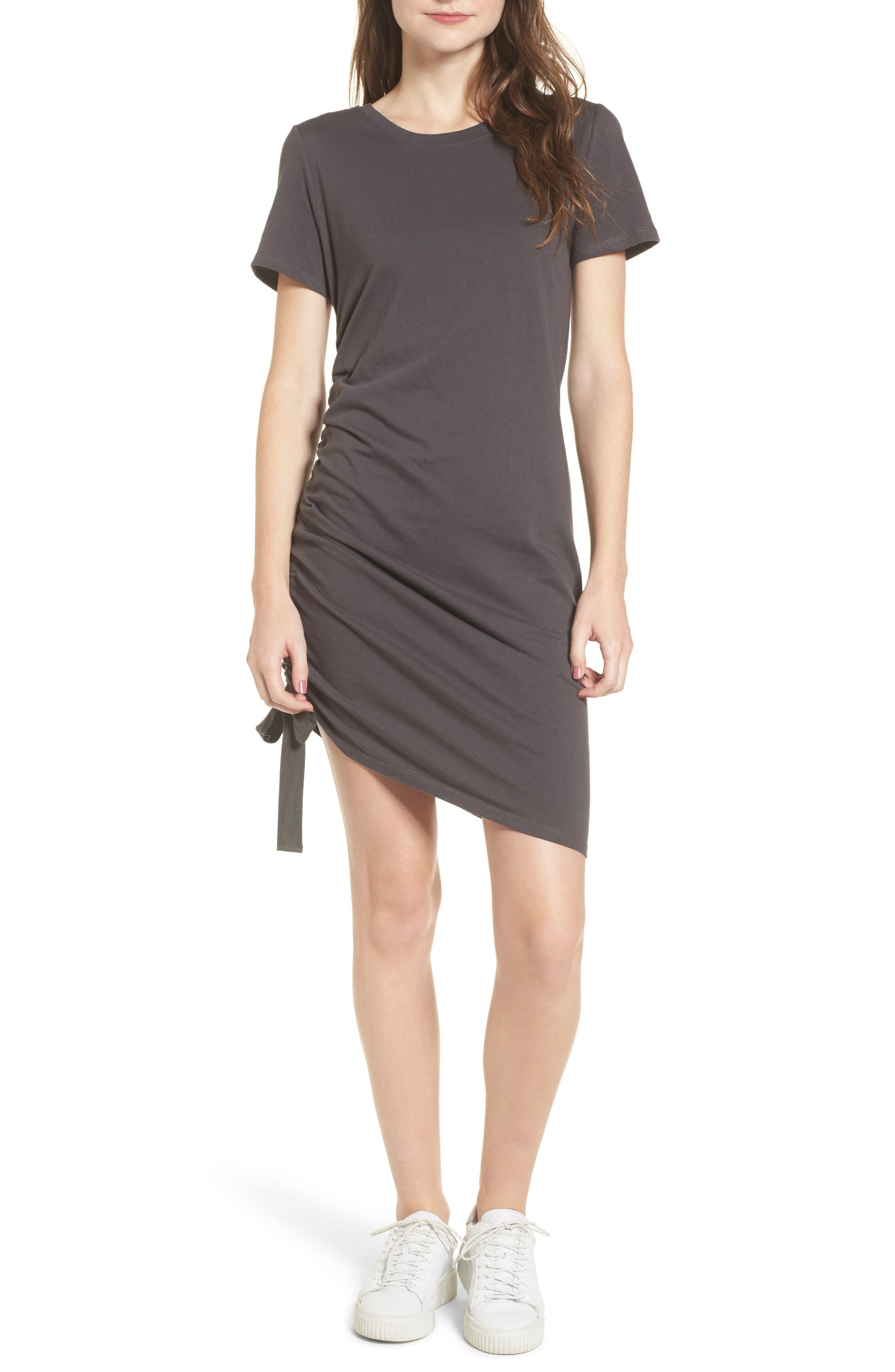 BP. Side Cinch Cotton Dress