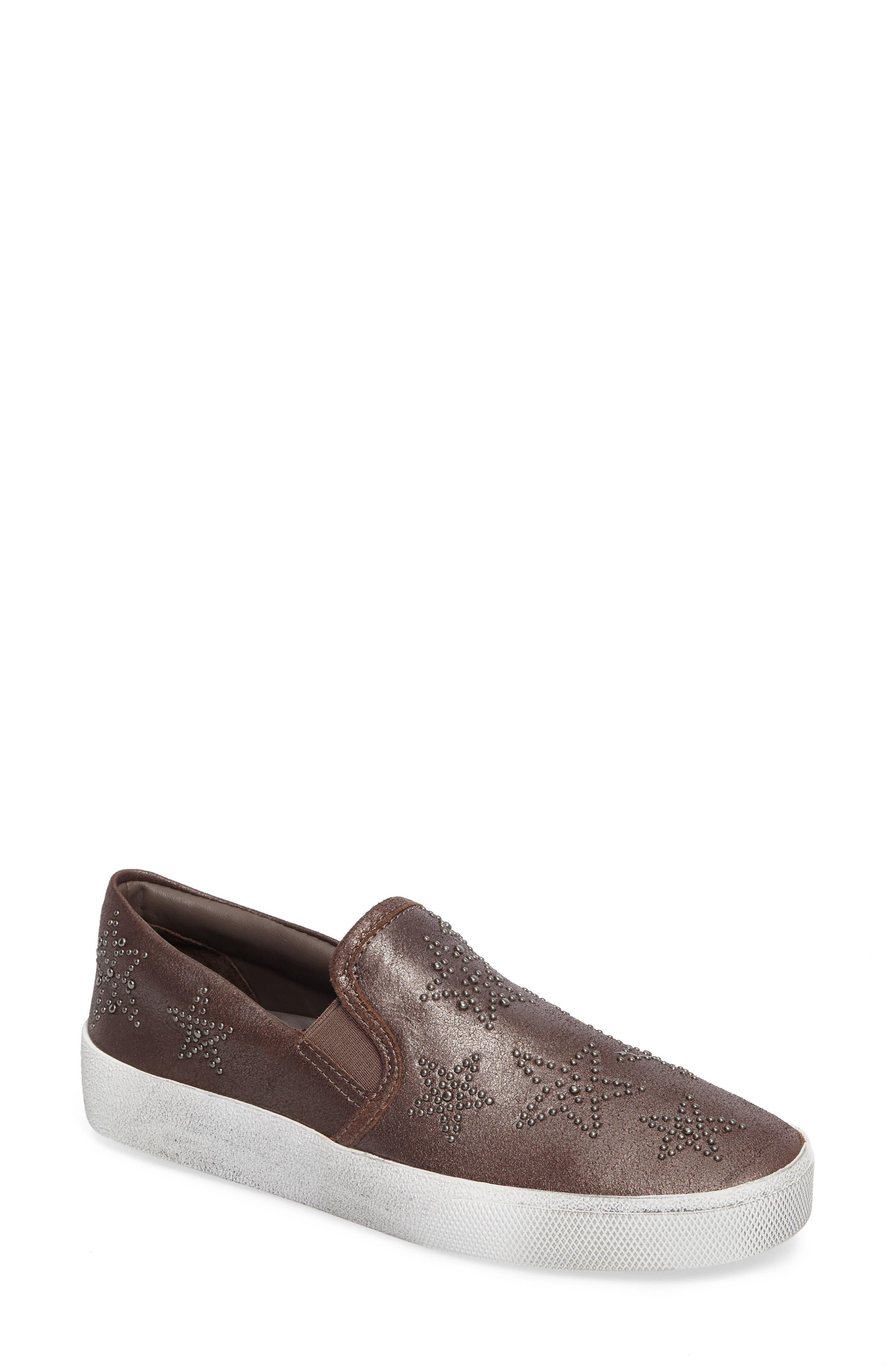 Star Slip-On Sneaker,                             Main thumbnail 1, color,                             Bronze