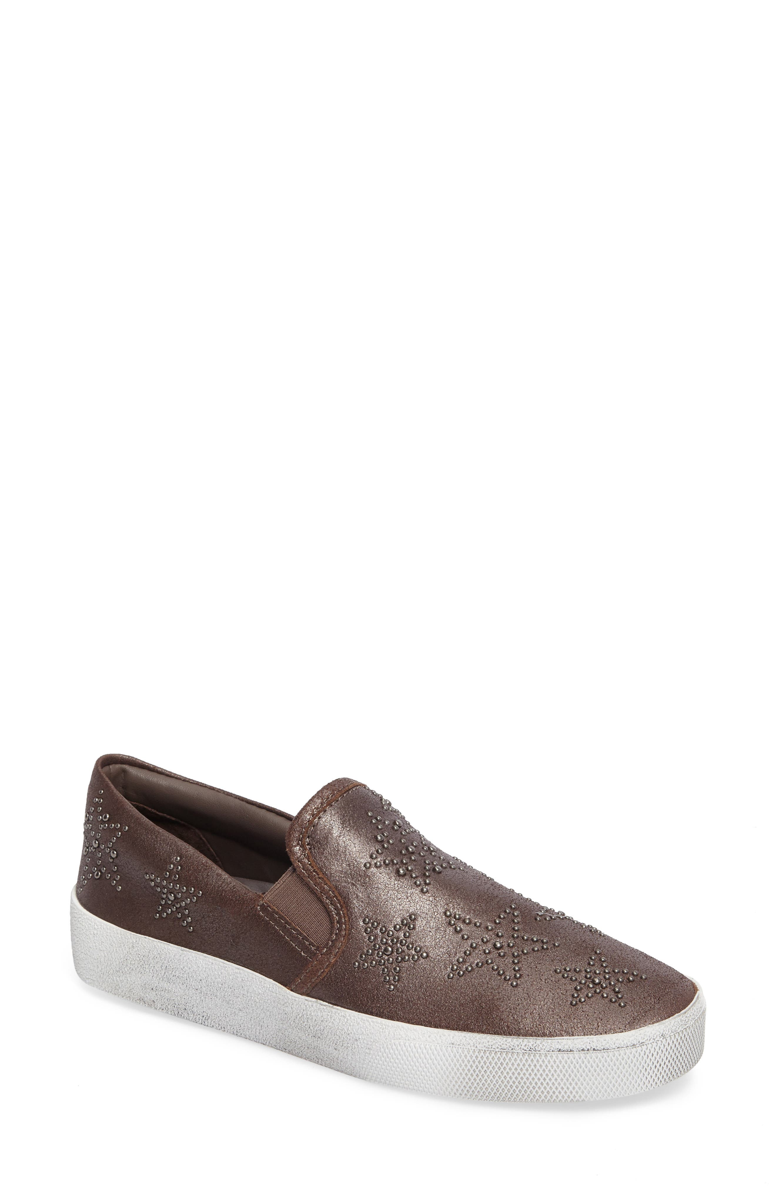 Star Slip-On Sneaker,                         Main,                         color, Bronze
