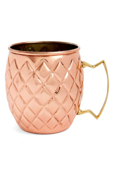 Main Image - true fabrications Twine Pineapple Moscow Mule Mug