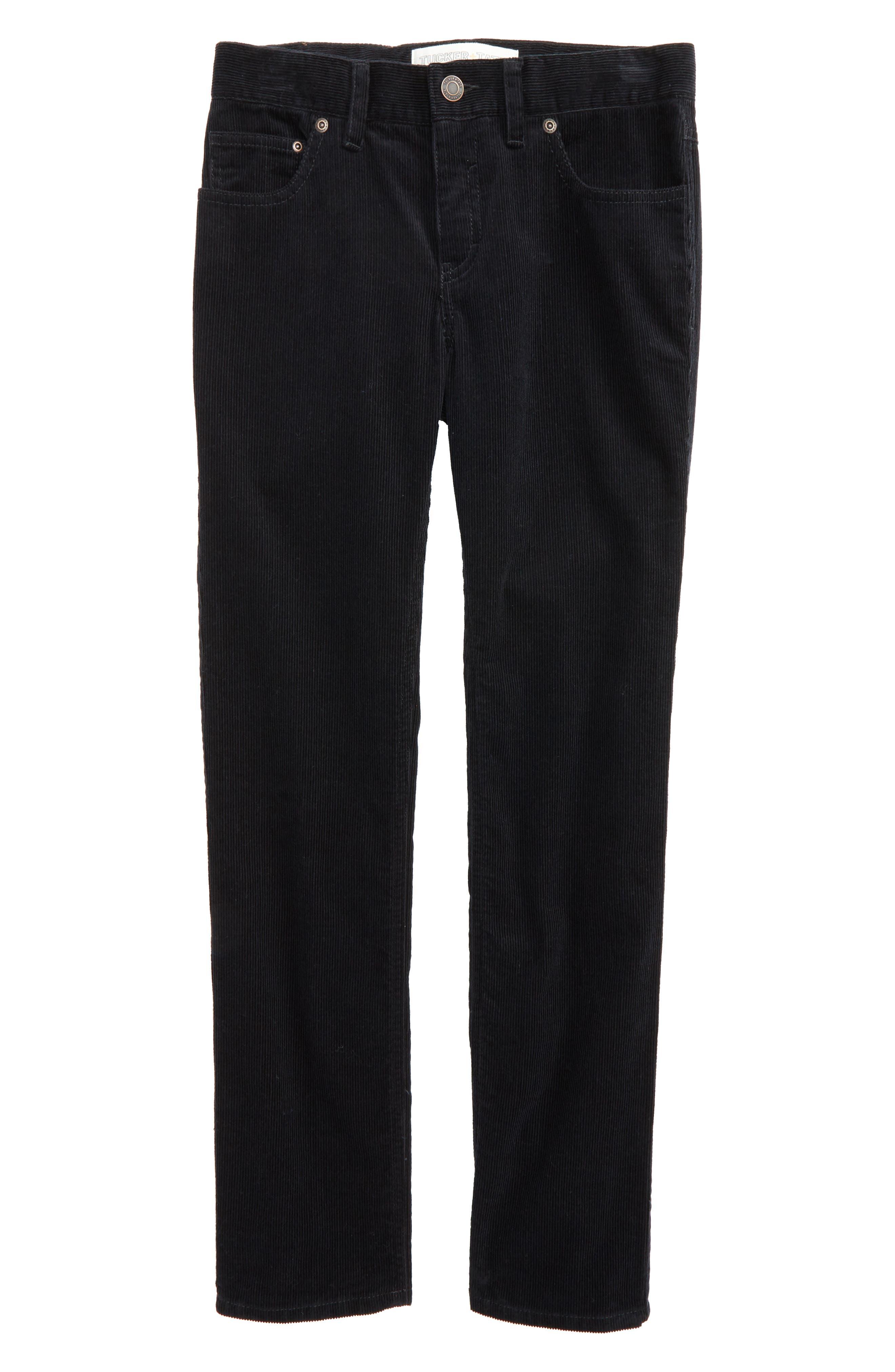 'Townsend' Corduroy Pants,                         Main,                         color, Black