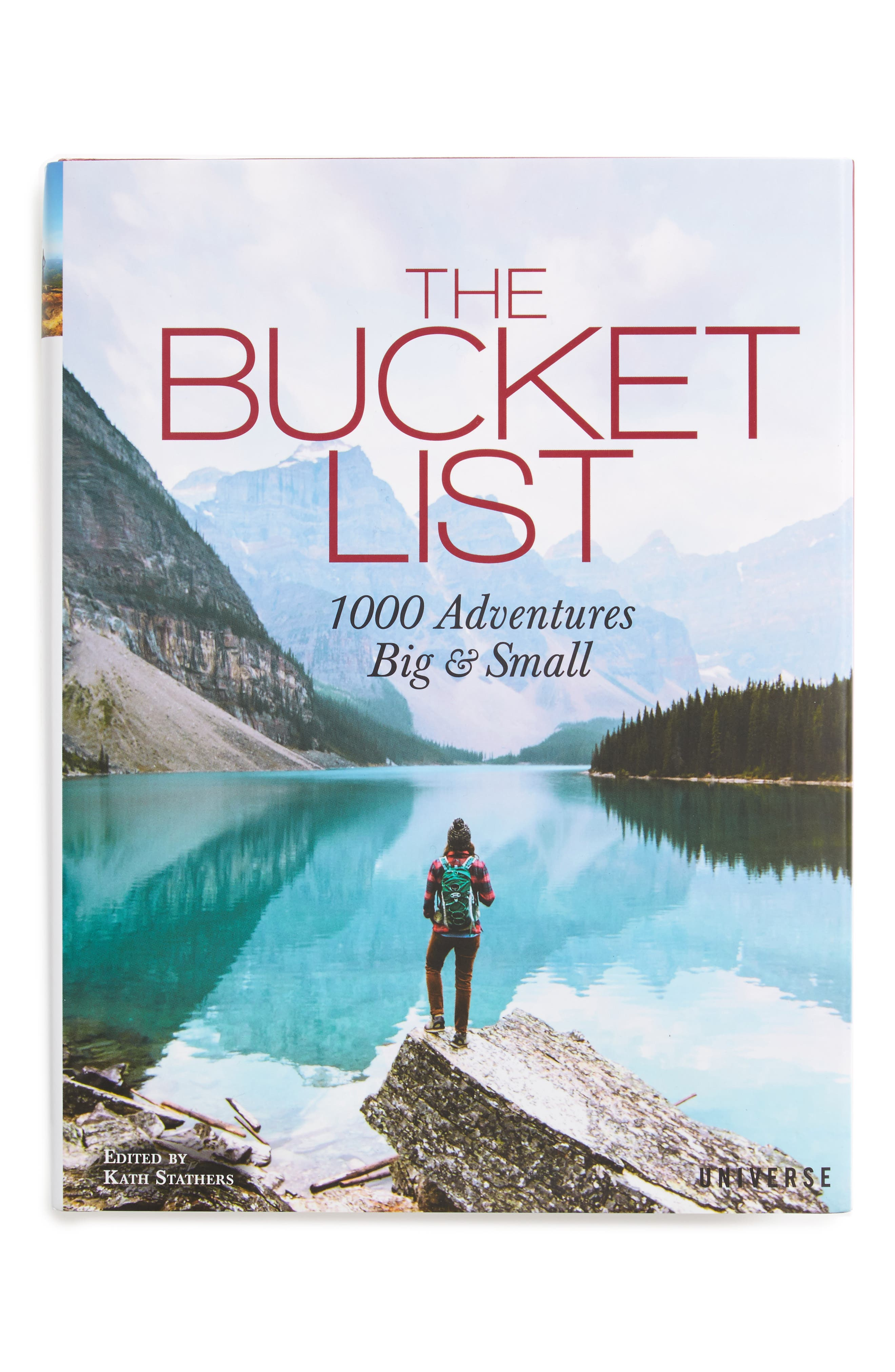 The Bucket List: 1,000 Adventures Big & Small Book,                         Main,                         color, White