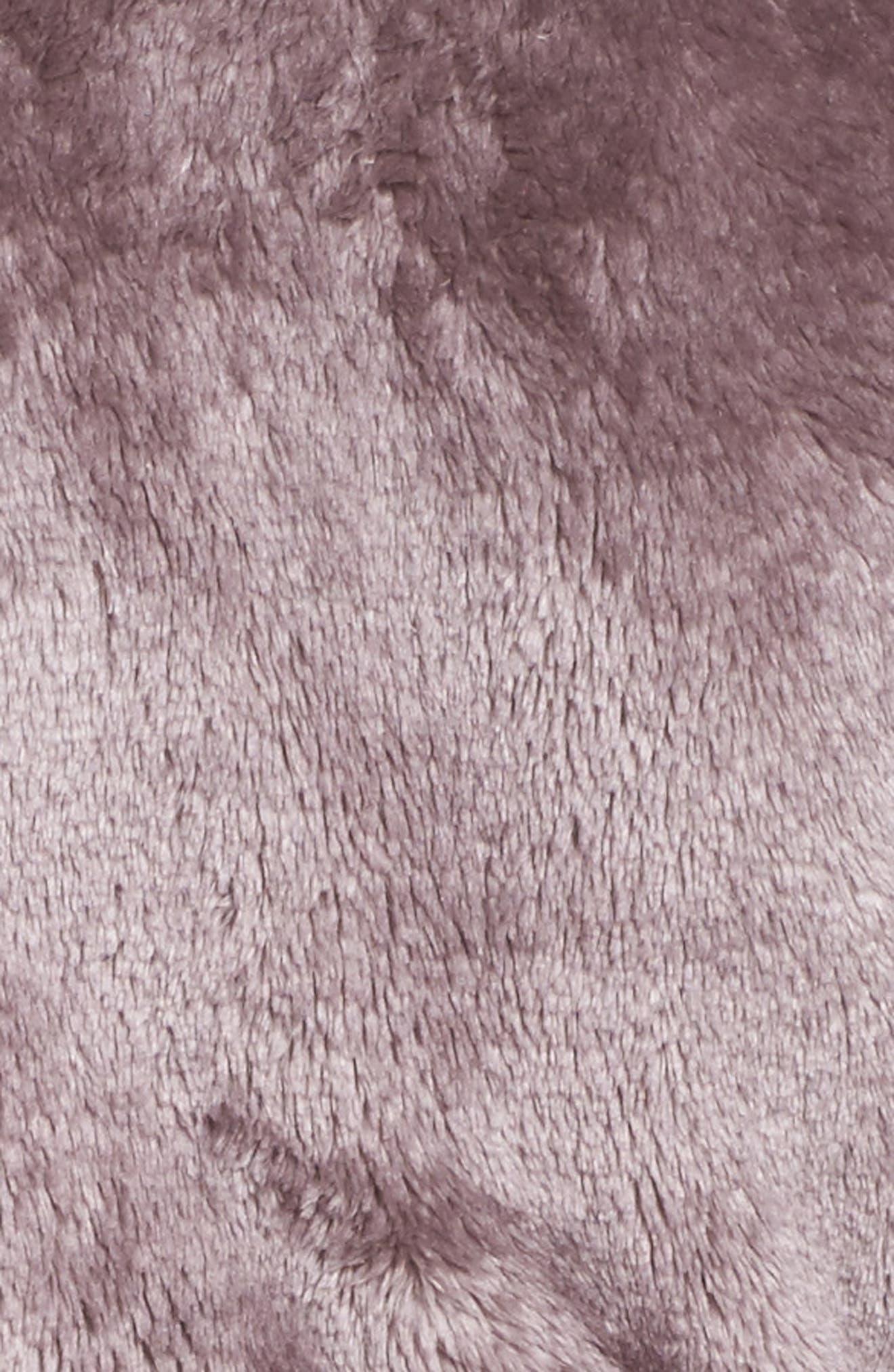 Alternate Image 5  - Nordstrom Lingerie Frosted Plush Robe