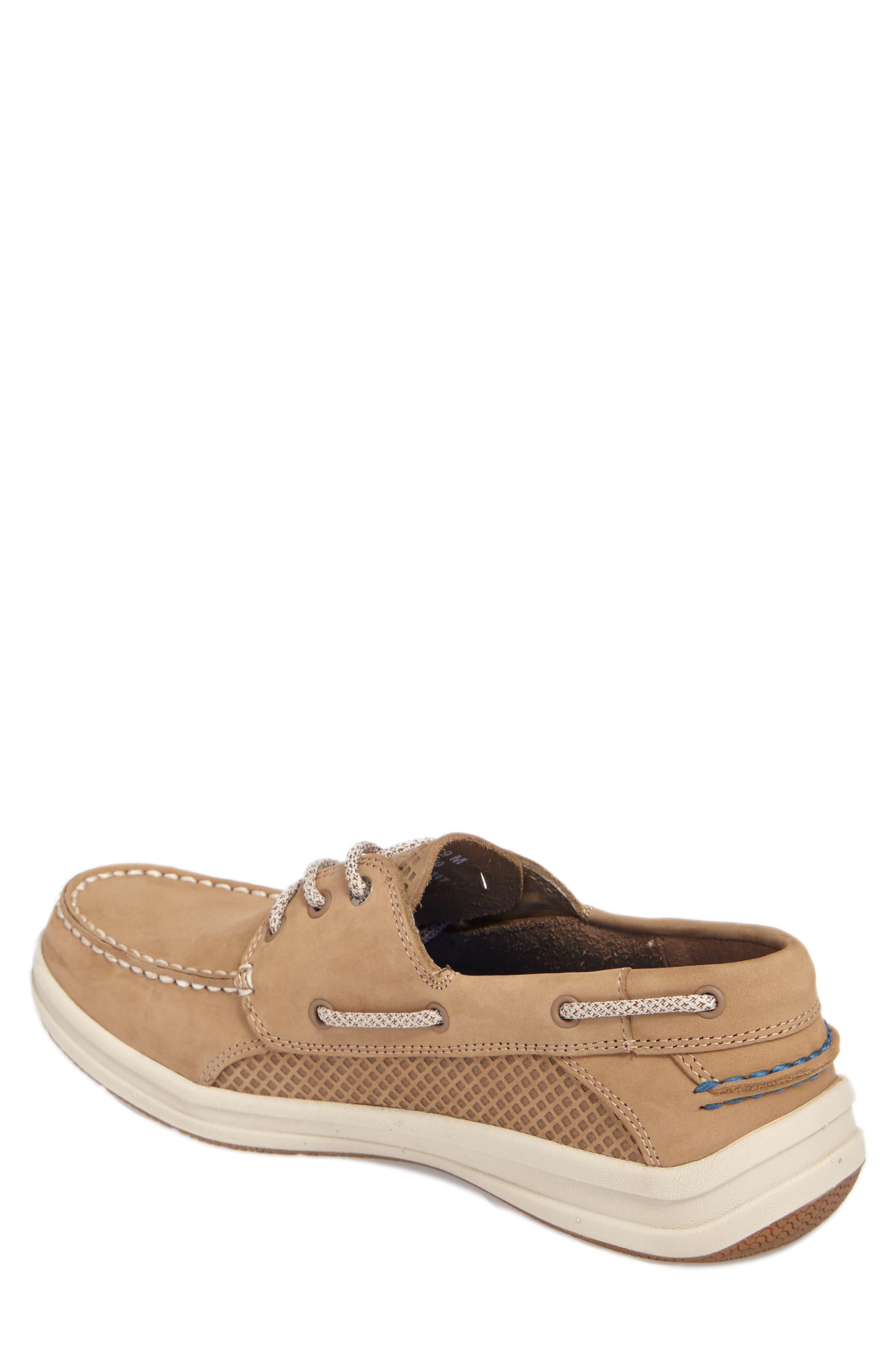 Gamefish Boat Shoe,                             Alternate thumbnail 2, color,                             Linen Leather