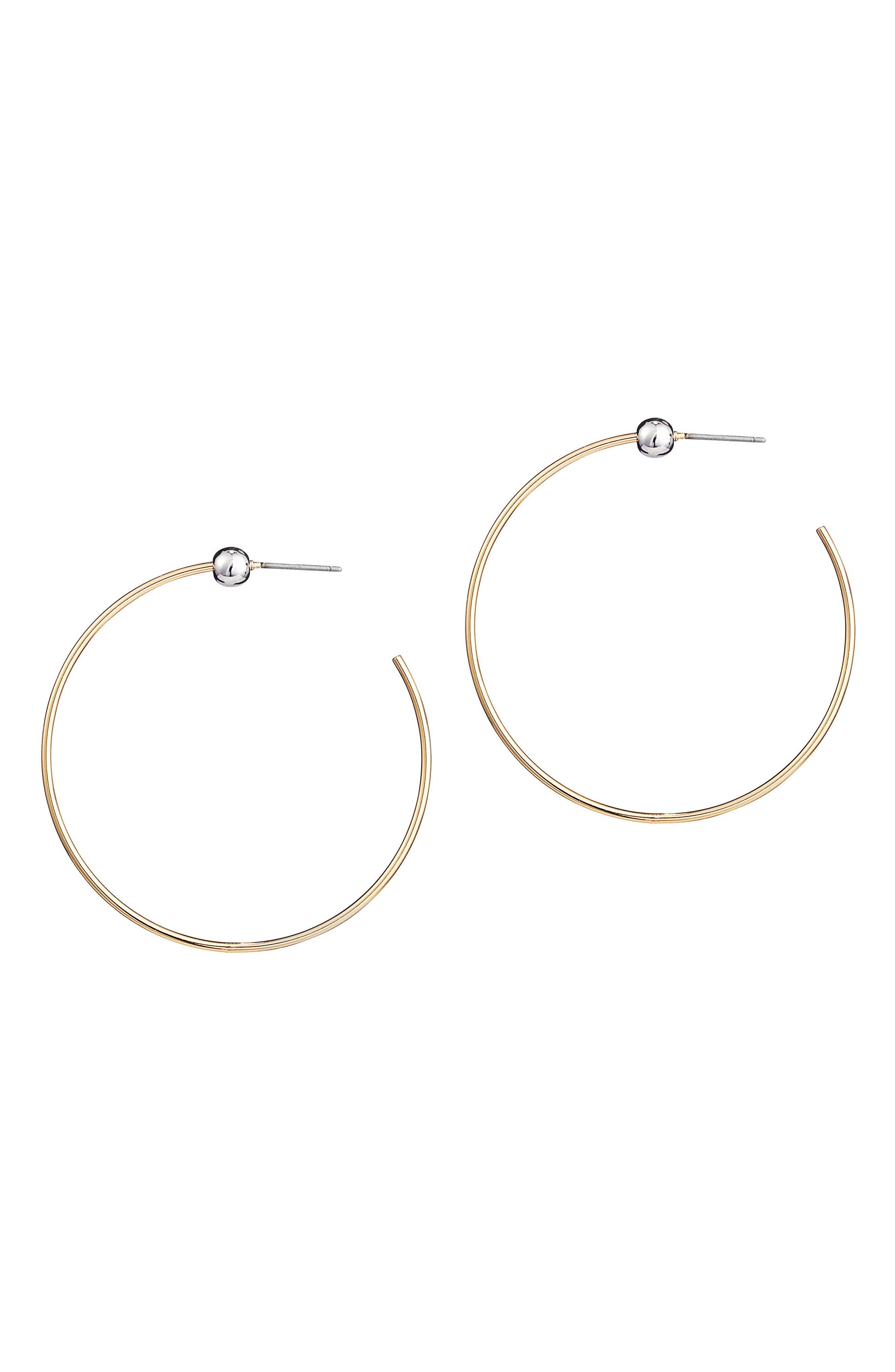 Jenny Bird Icon Hoop Earrings