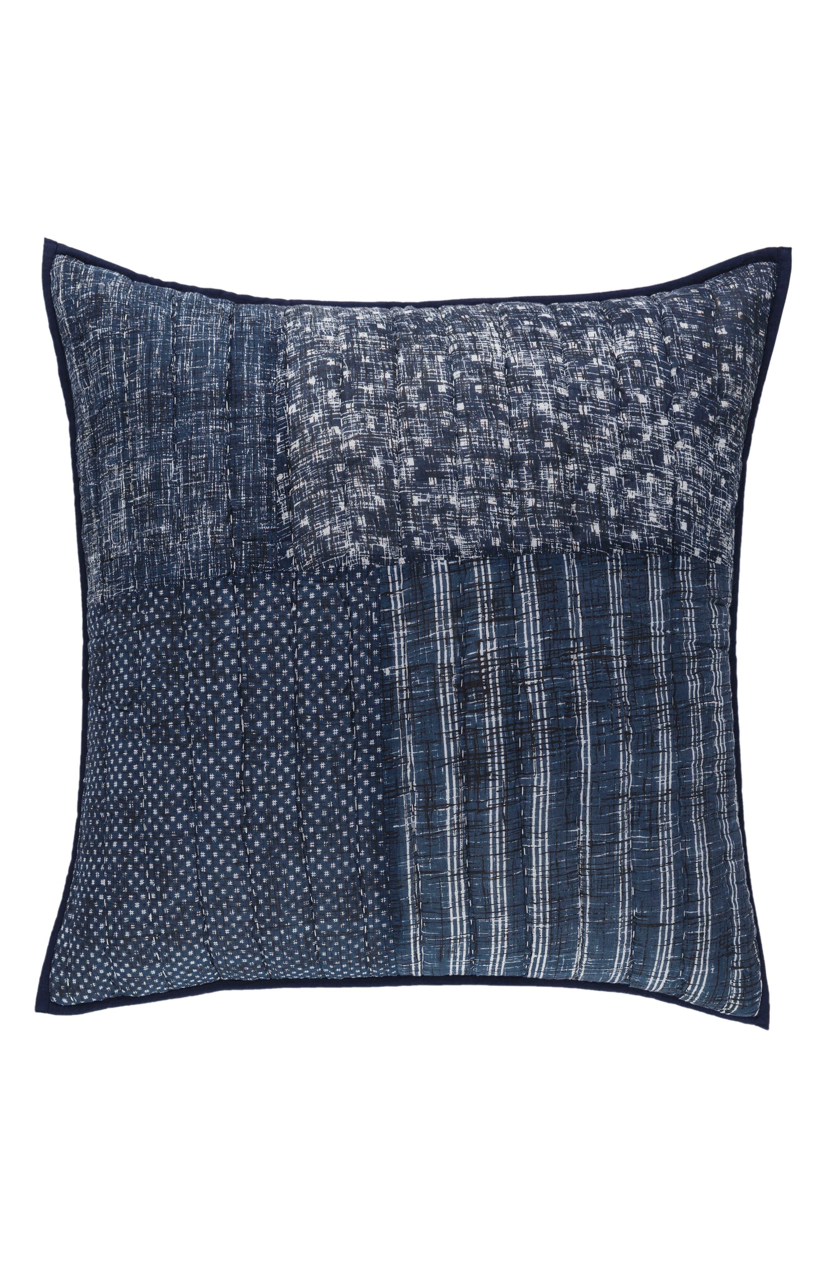 Alternate Image 1 Selected - Pine Cone Hill Eren Quilted Euro Sham