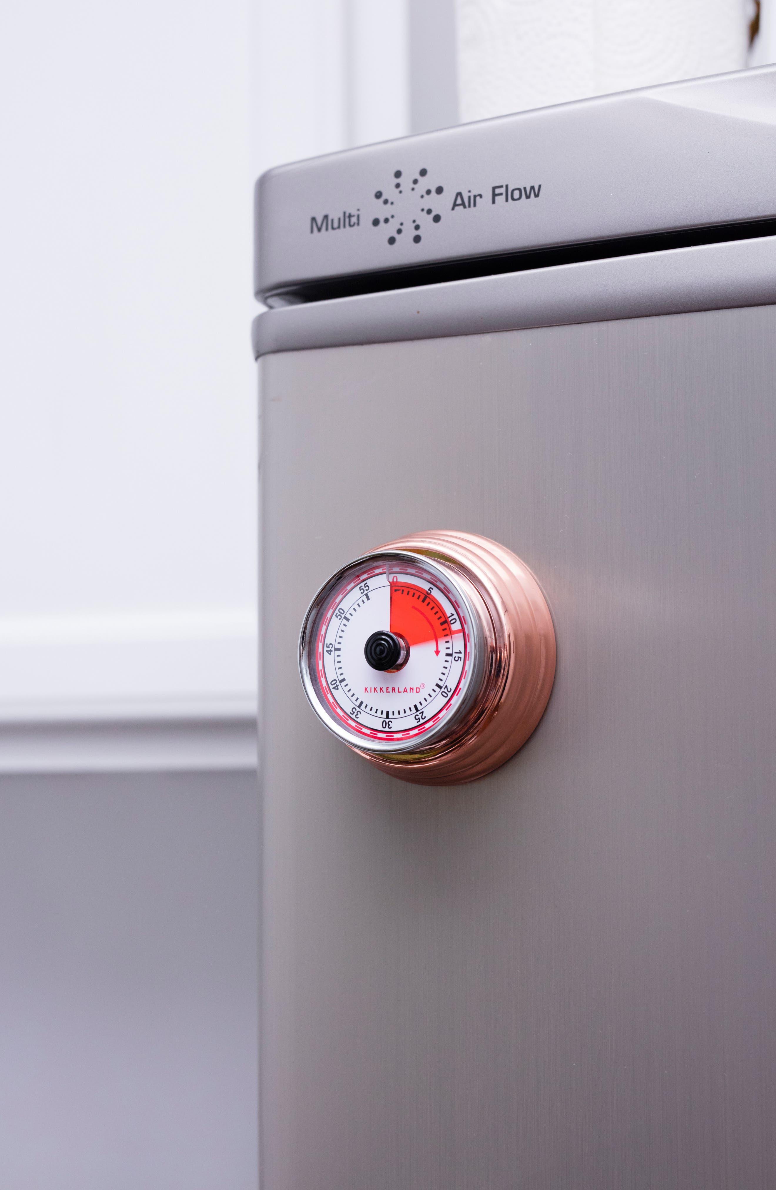 Magnetic Kitchen Timer,                             Alternate thumbnail 2, color,                             Copper