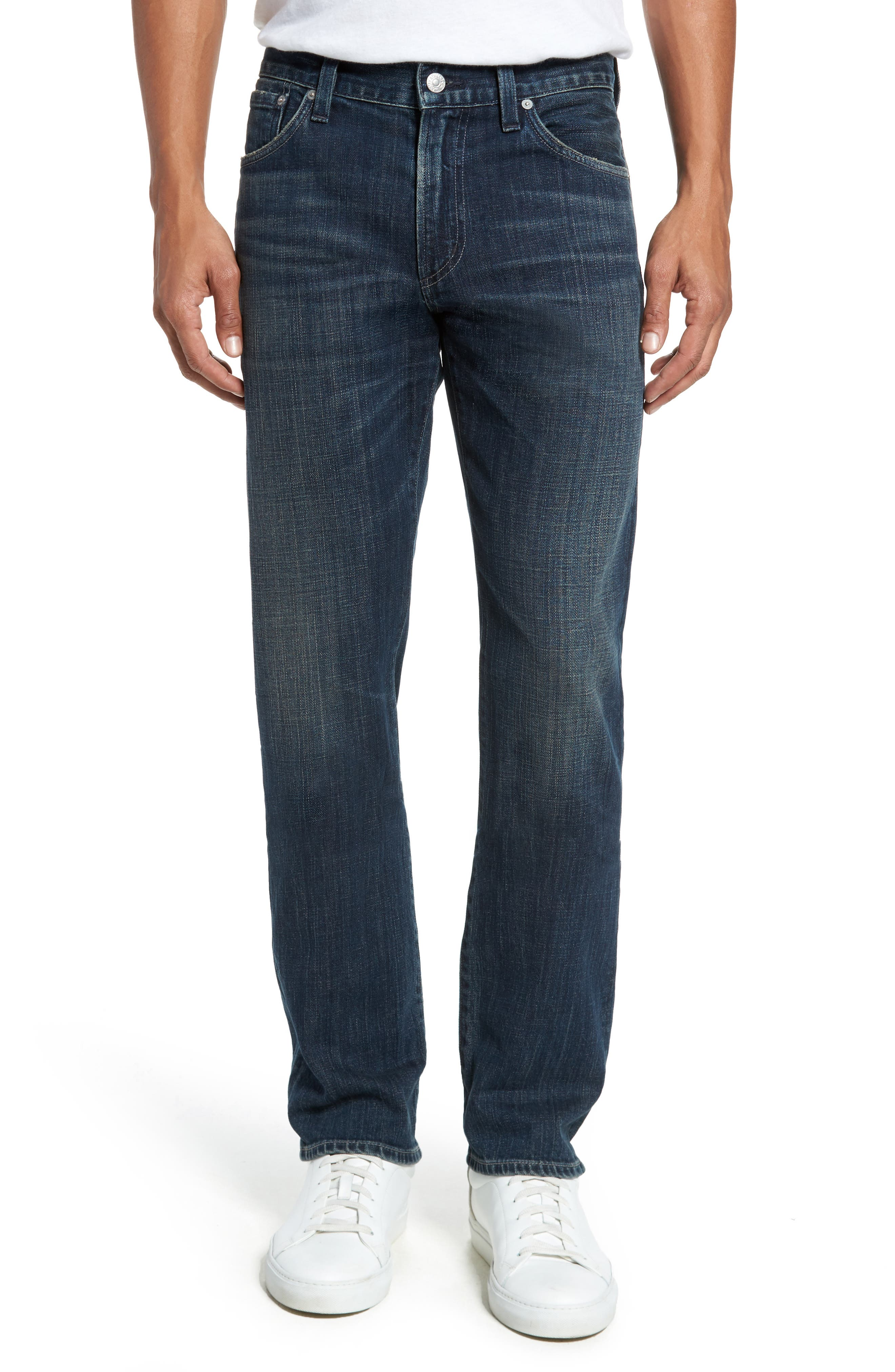 Citizens of Humanity Gage Slim Straight Fit Jeans (Crestline)