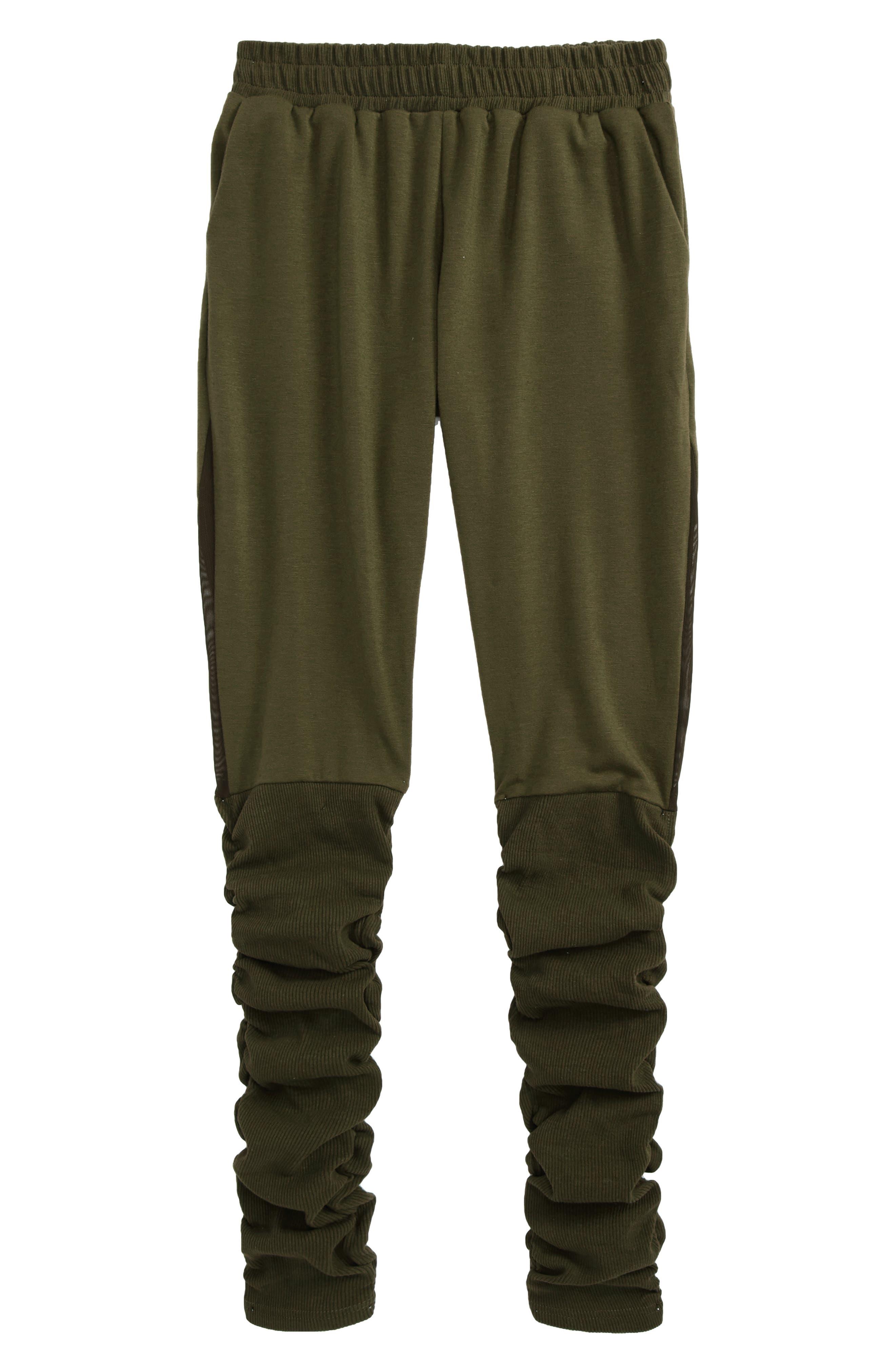 Winona Sweatpants,                         Main,                         color, Olive