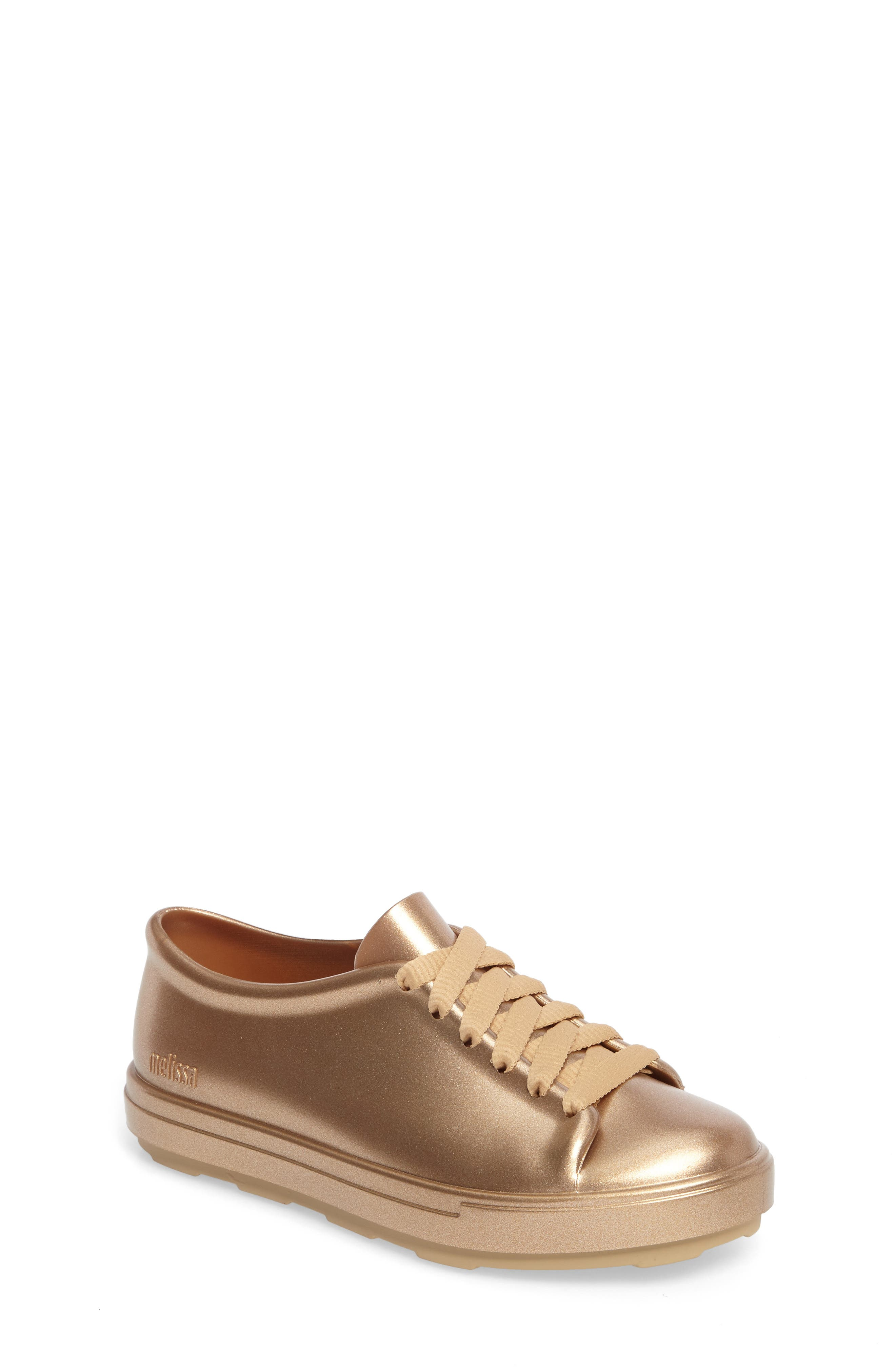 Be Shine Sneaker,                         Main,                         color, Gold