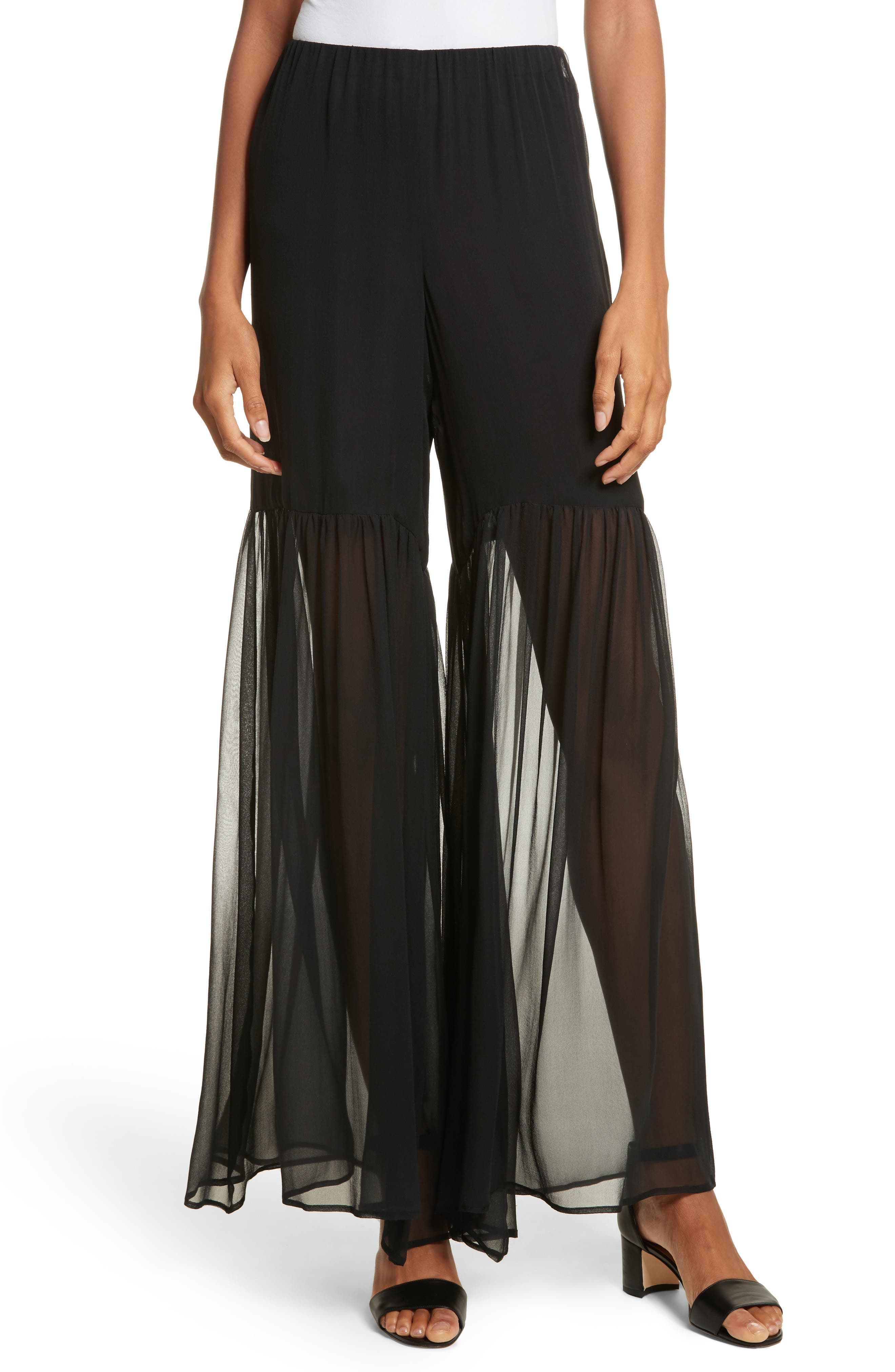 Caroline Constas Summer Sheered Pants