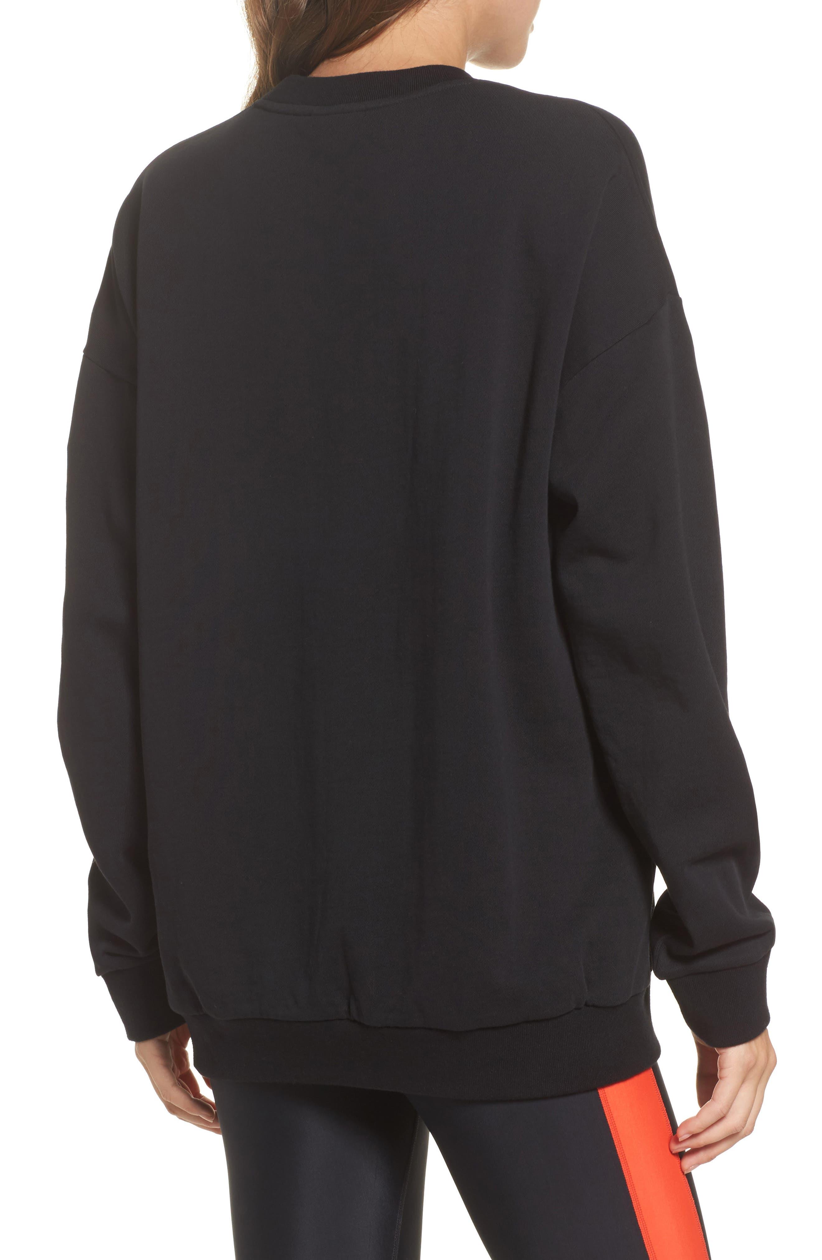 Get Set Sweatshirt,                             Alternate thumbnail 2, color,                             Black