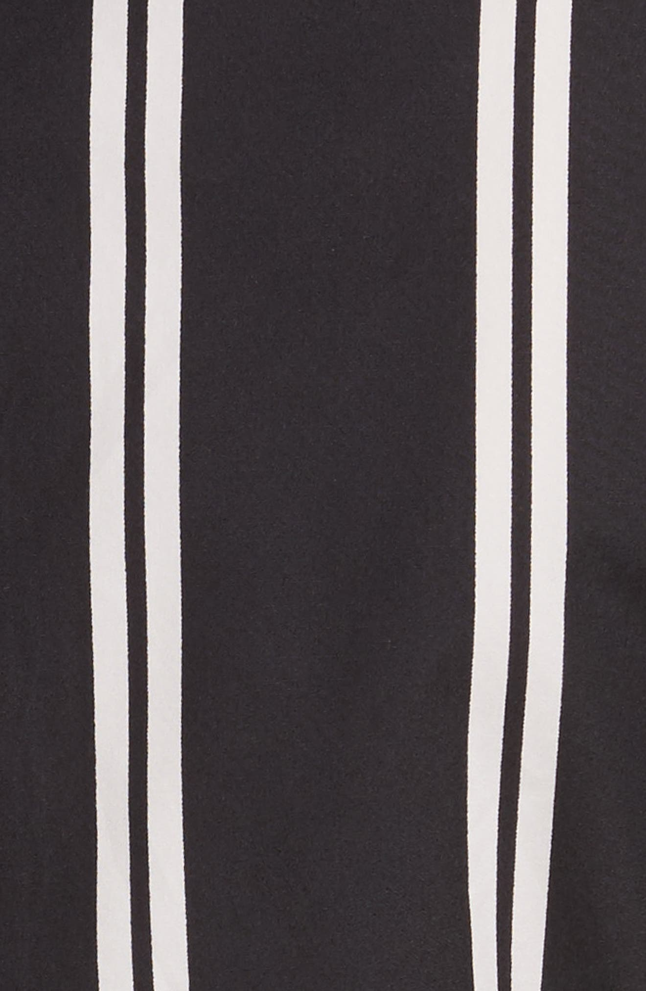 Iliana Stripe Fit & Flare Dress,                             Alternate thumbnail 5, color,                             Mod Pinstripe