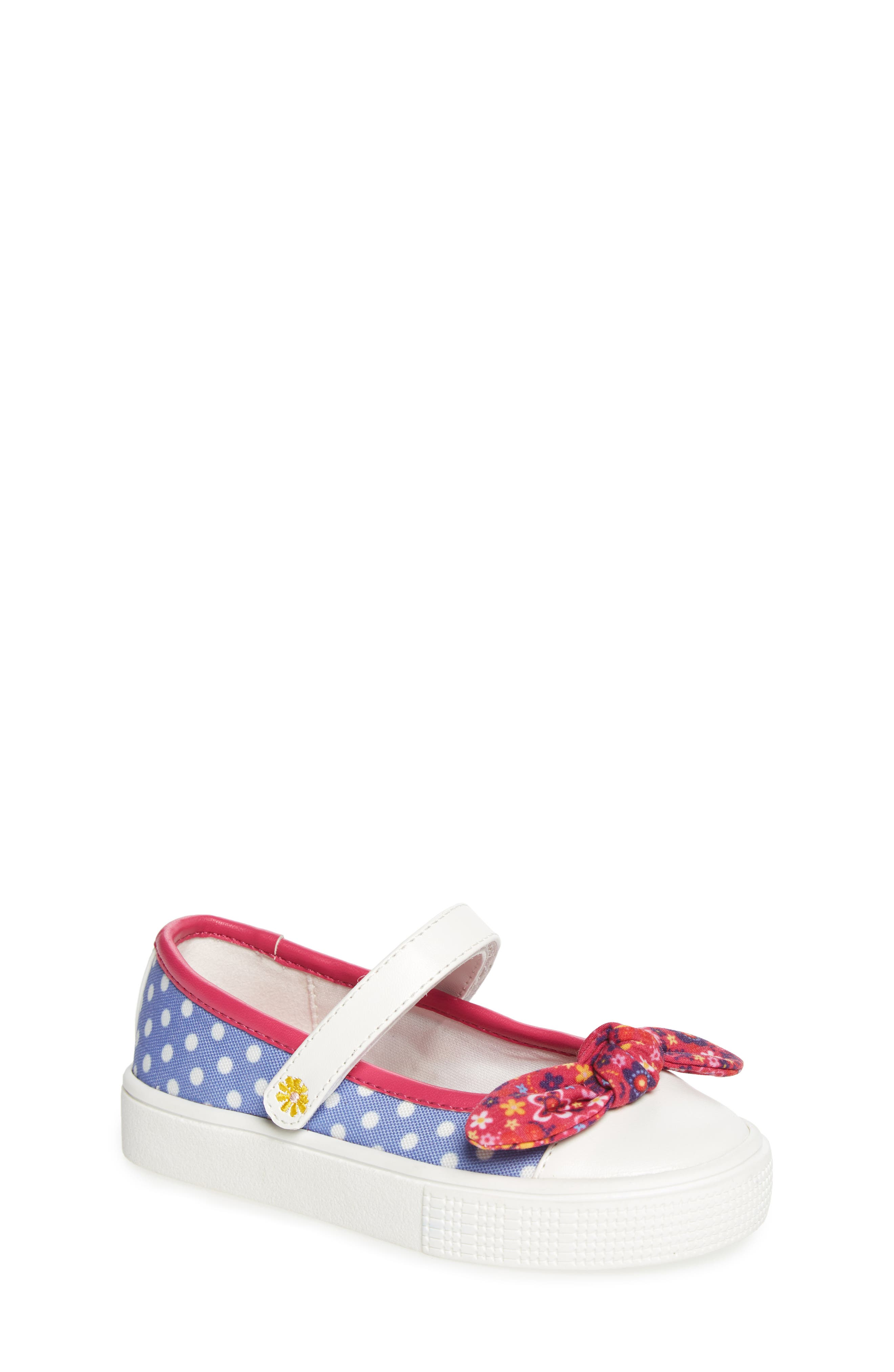 Kendall Mary Jane Sneaker,                         Main,                         color, Purple
