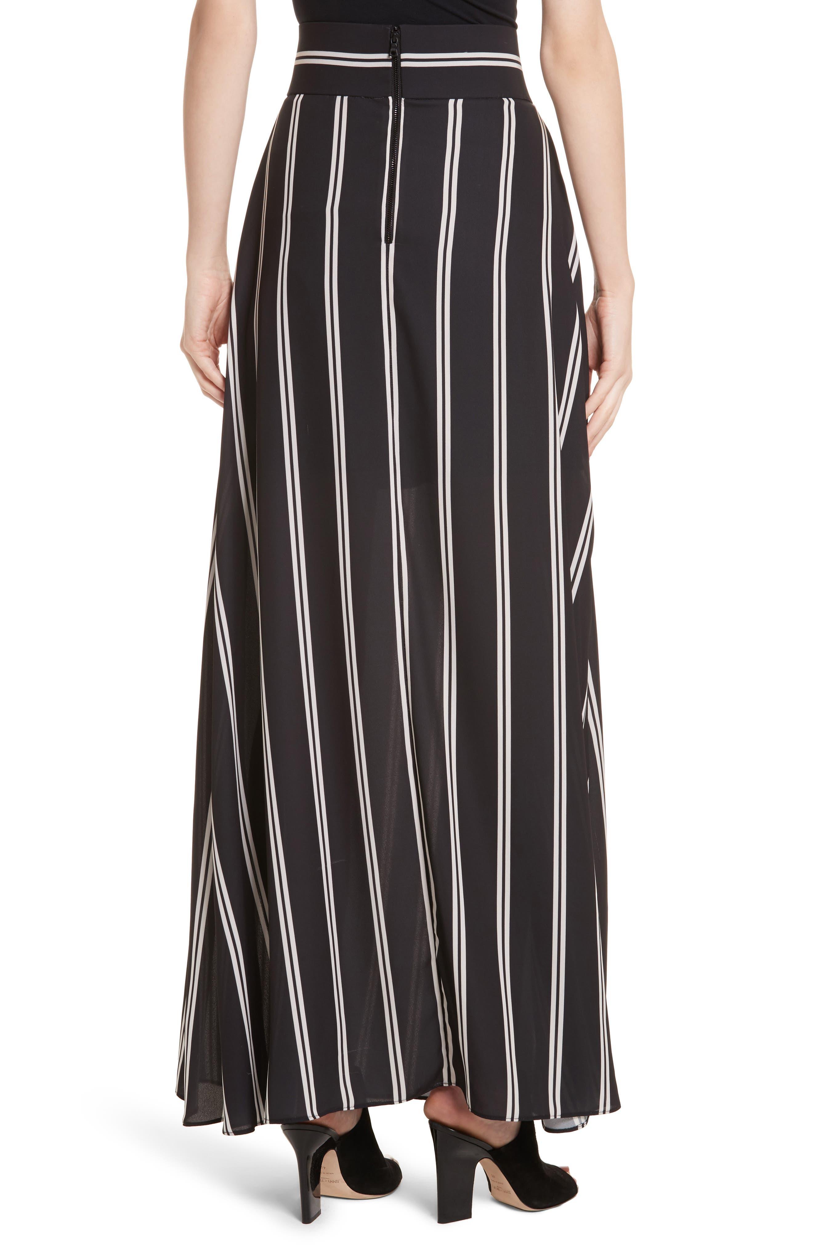 Alternate Image 2  - Alice + Olivia Gabel Clean Pleat Maxi Skirt