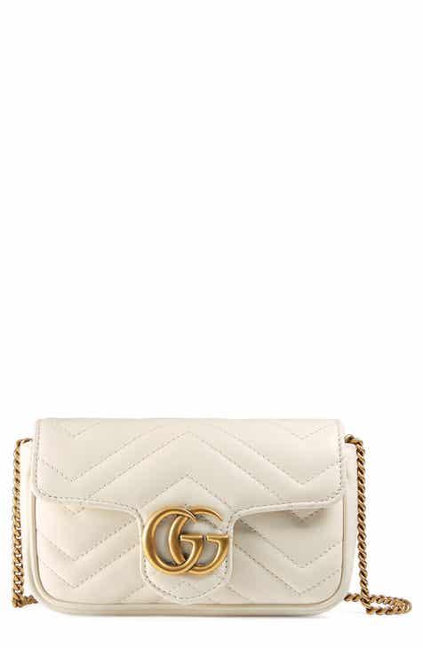 6888722f93f Gucci Supermini GG Marmont 2.0 Matelassé Leather Shoulder Bag