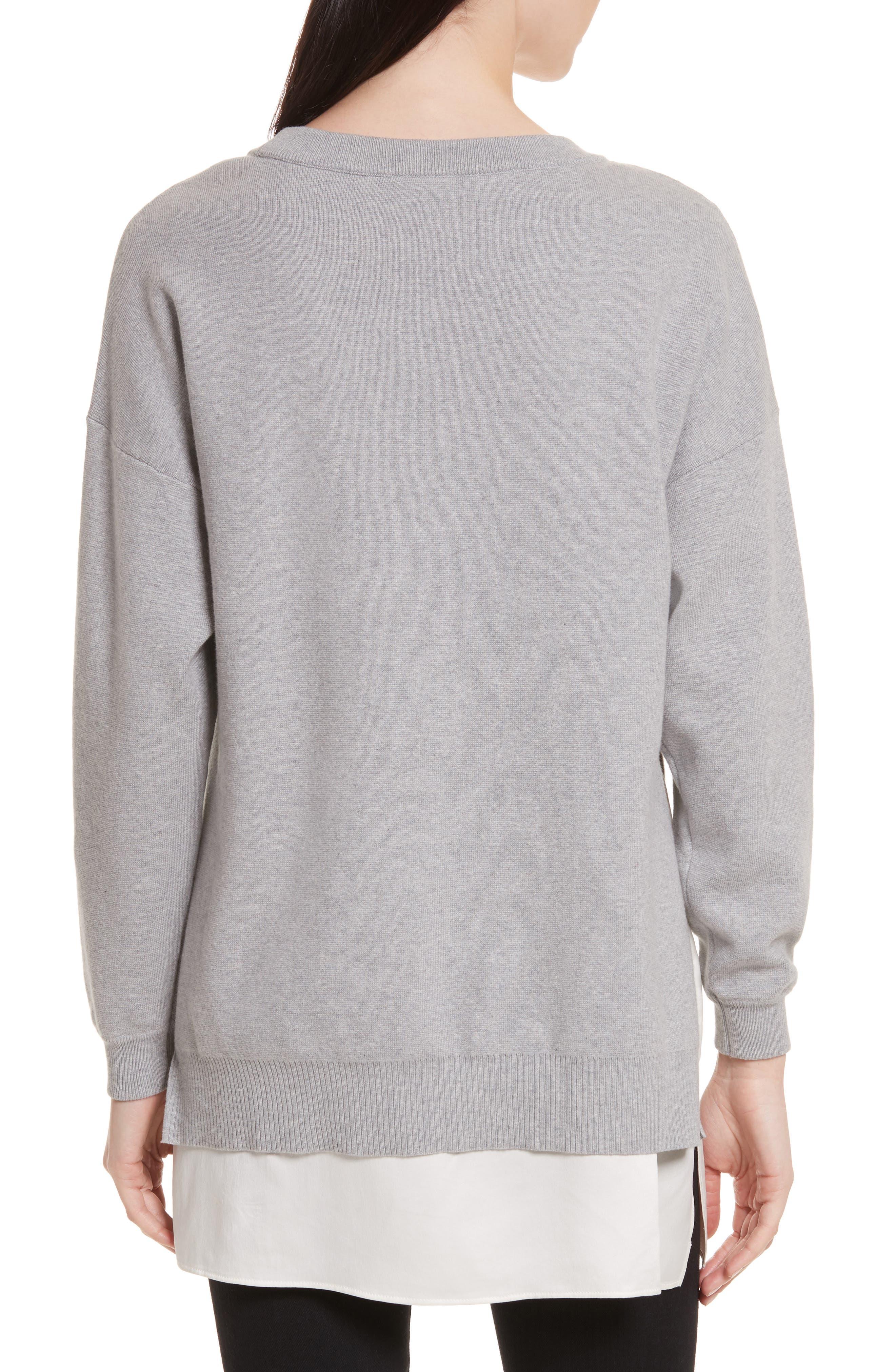 Alternate Image 2  - Alice + Olivia Eldridge Side Slit Undershirt Tunic