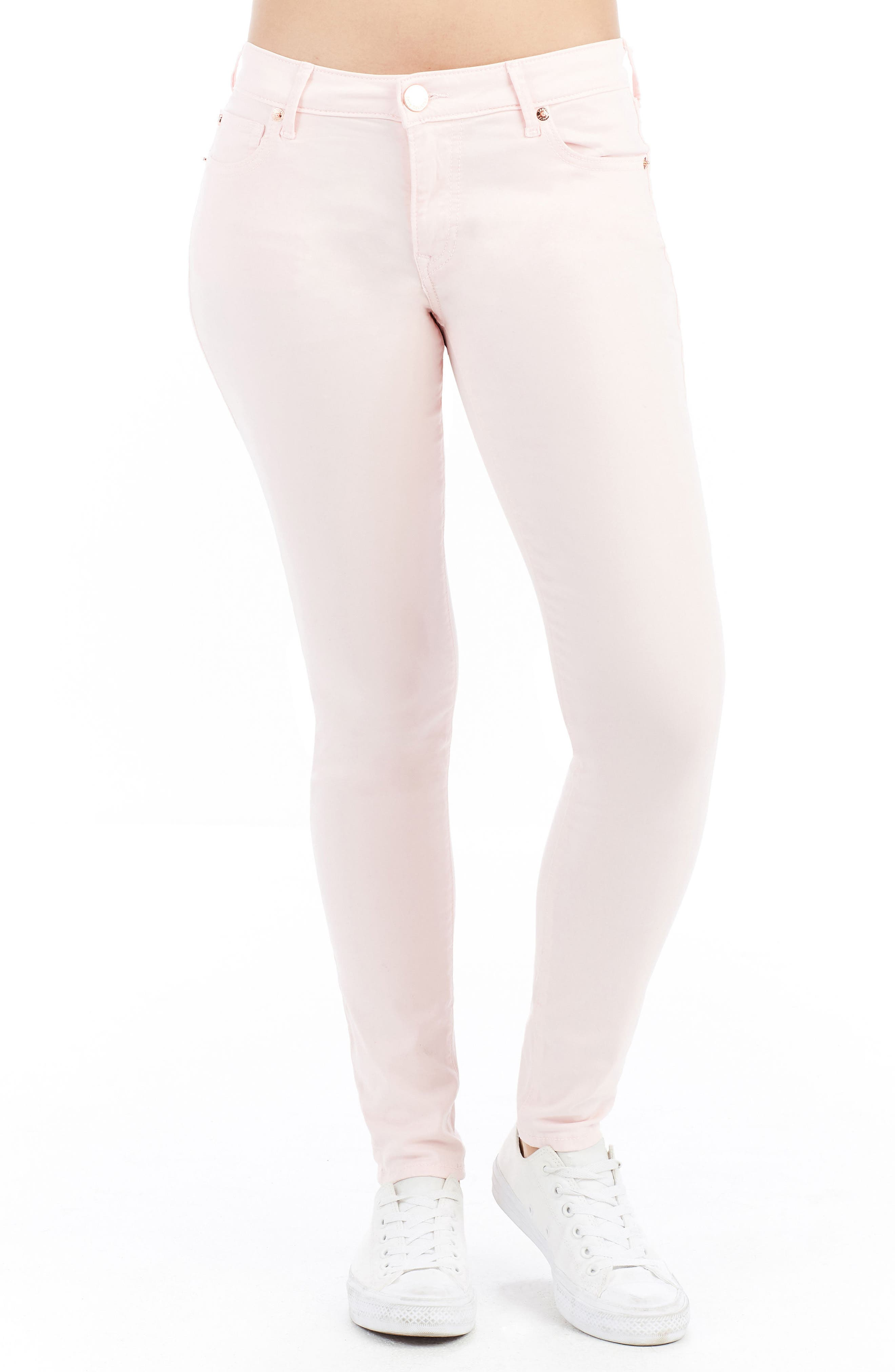Jennie Curvy Skinny Jeans,                         Main,                         color, Washed Peony