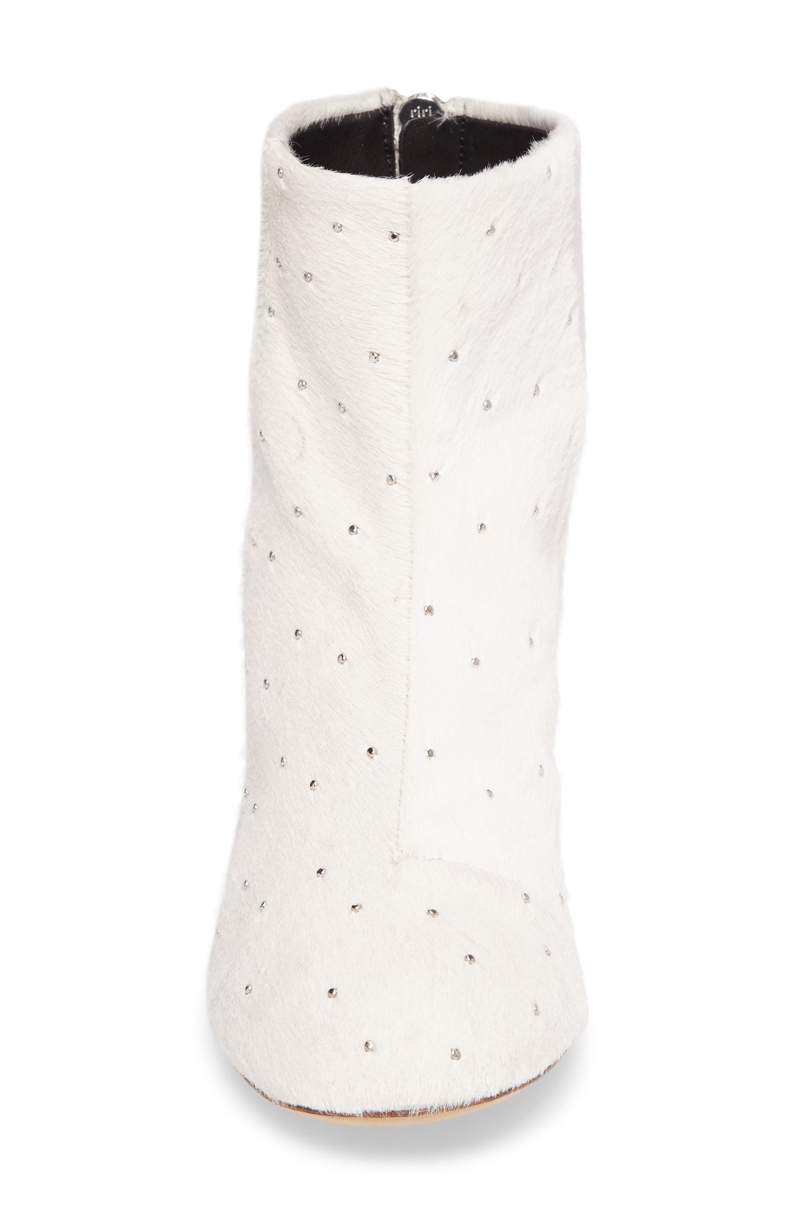 Alternate Image 4  - rag & bone Drea Genuine Calf Hair Block Heel Bootie (Women)