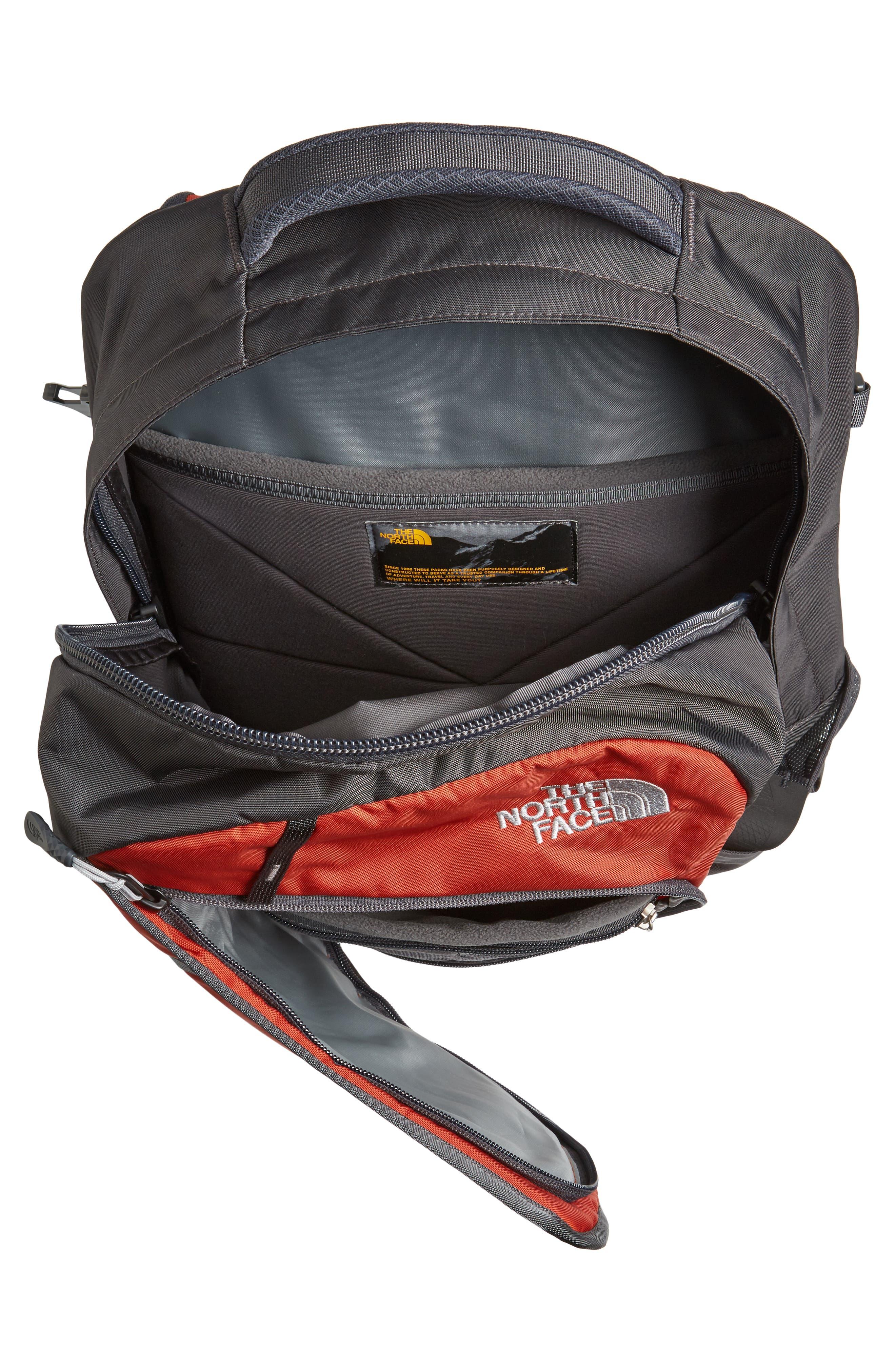 Hot Shot Backpack,                             Alternate thumbnail 4, color,                             Ketchup Red/ Asphalt Grey