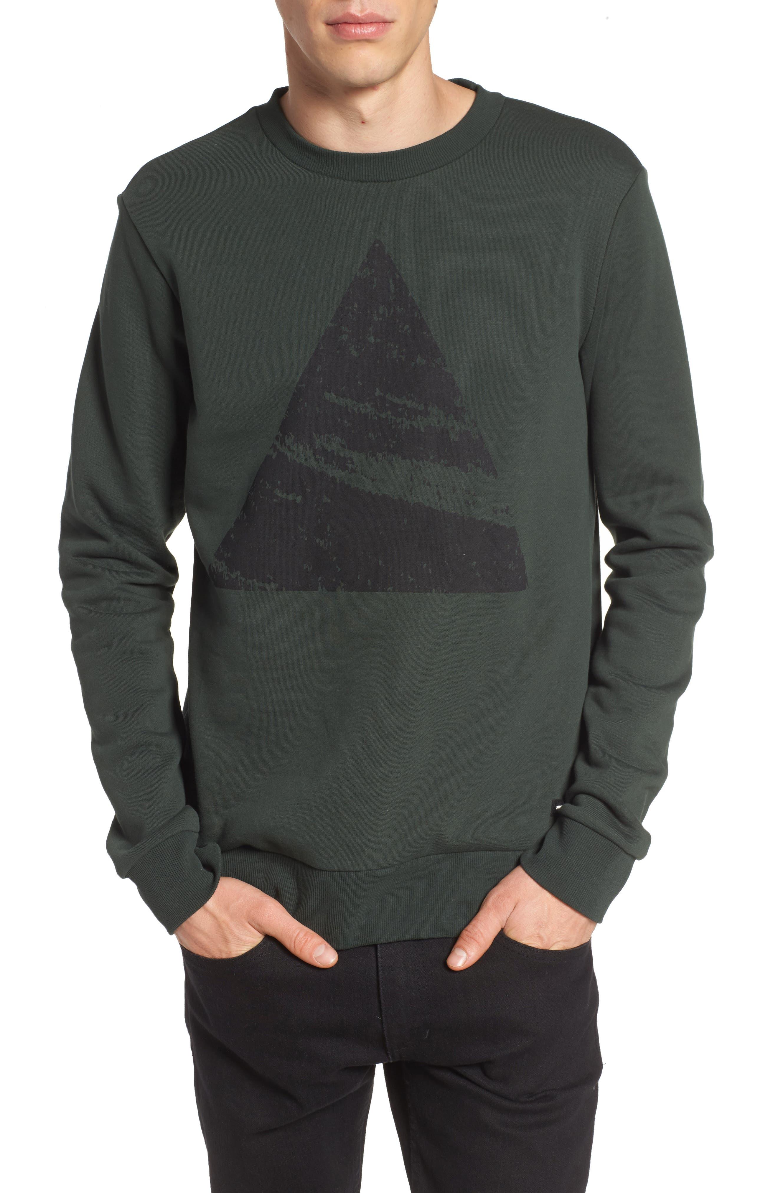Adrian Sweatshirt,                             Main thumbnail 1, color,                             Green Mountain Peak