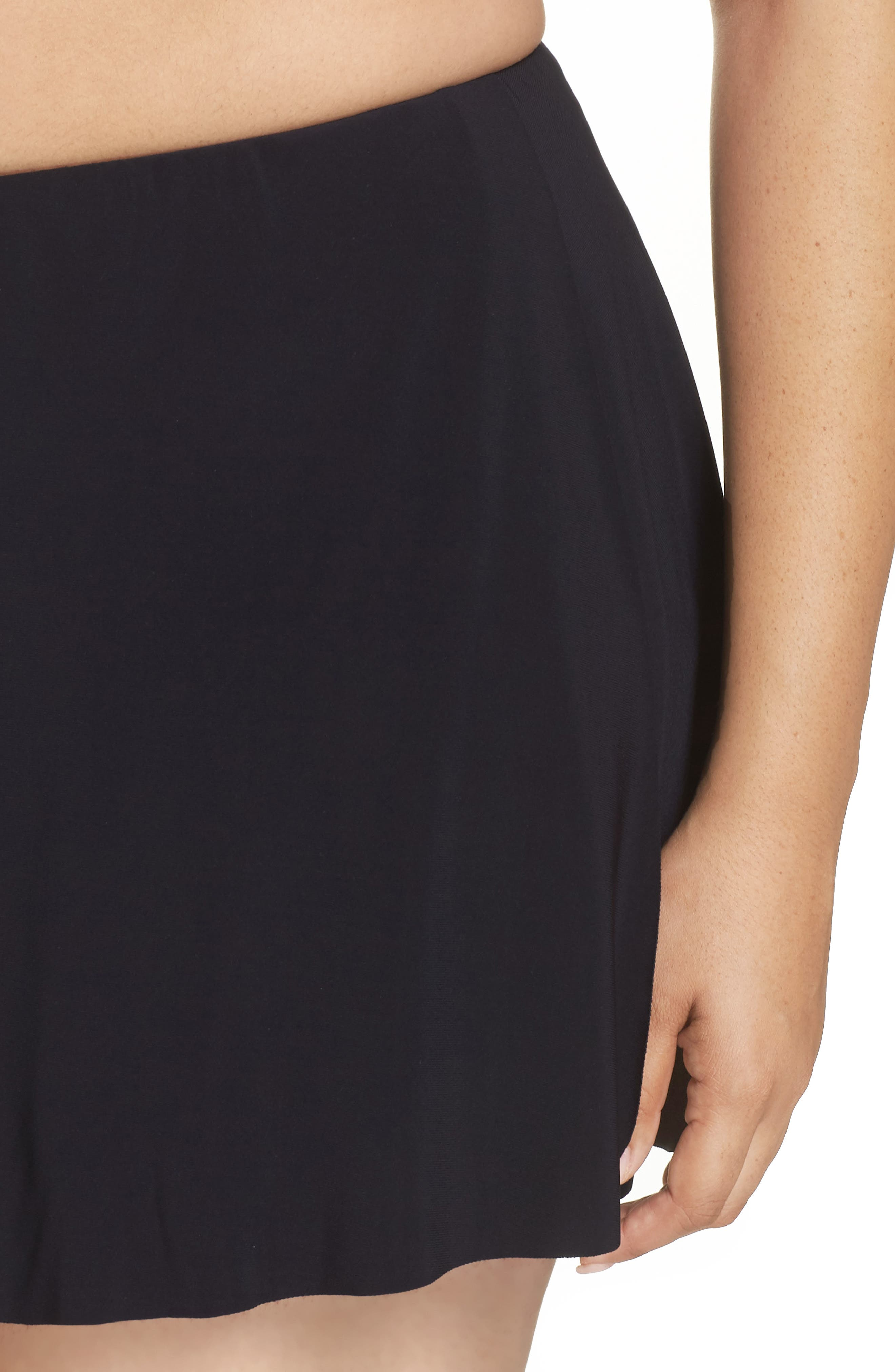 Alternate Image 4  - Magicsuit® Skirted Bikini Bottoms
