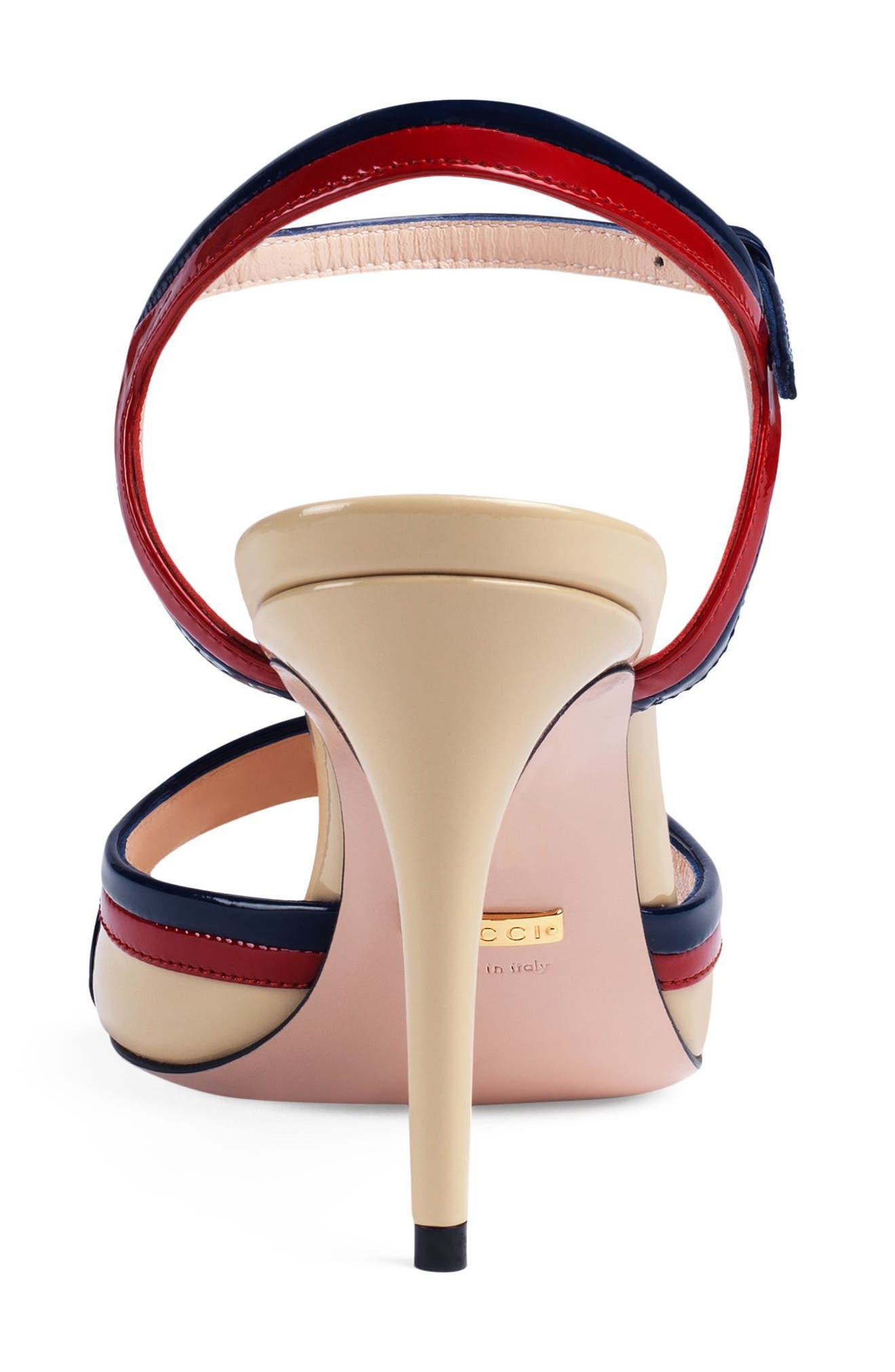 Alternate Image 4  - Gucci Millie Ankle Strap Sandal (Women)