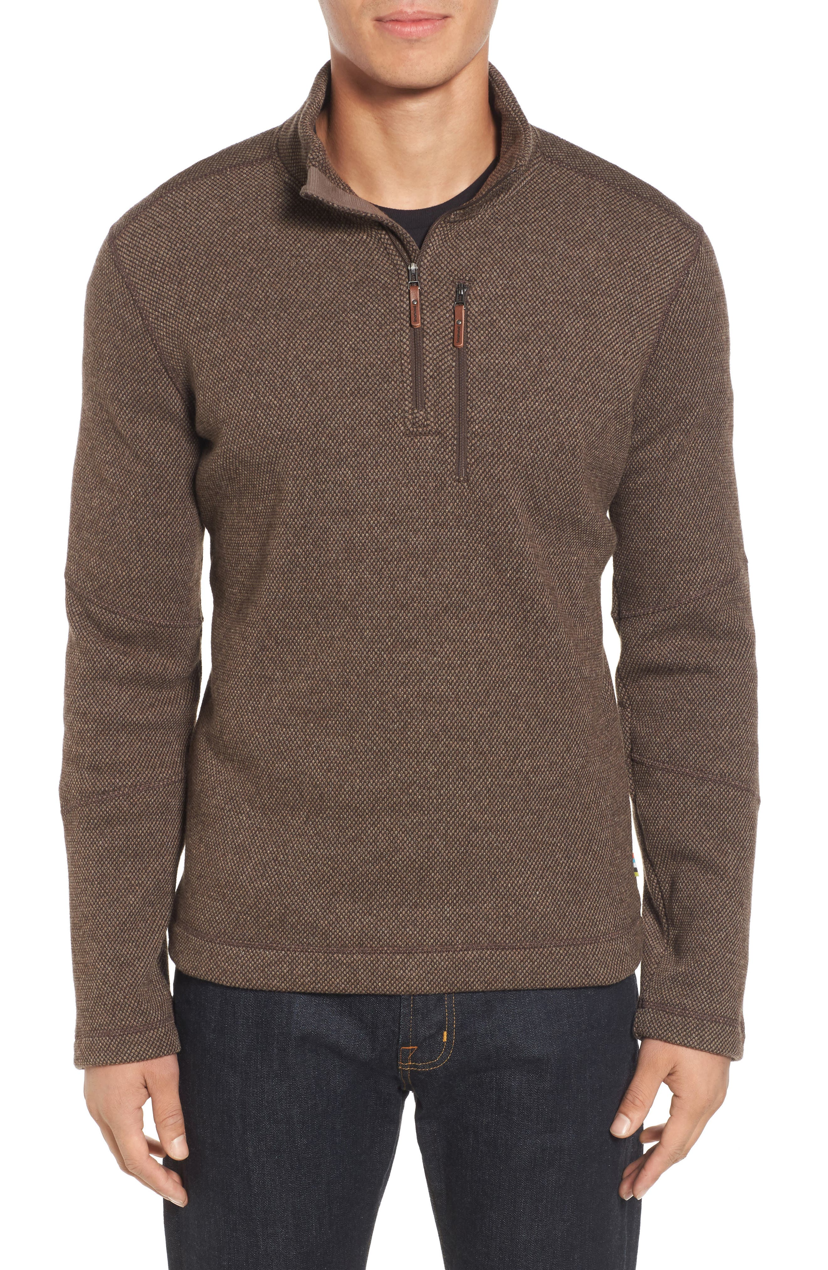 Main Image - Smartwool Heritage Trail Fleece Pullover