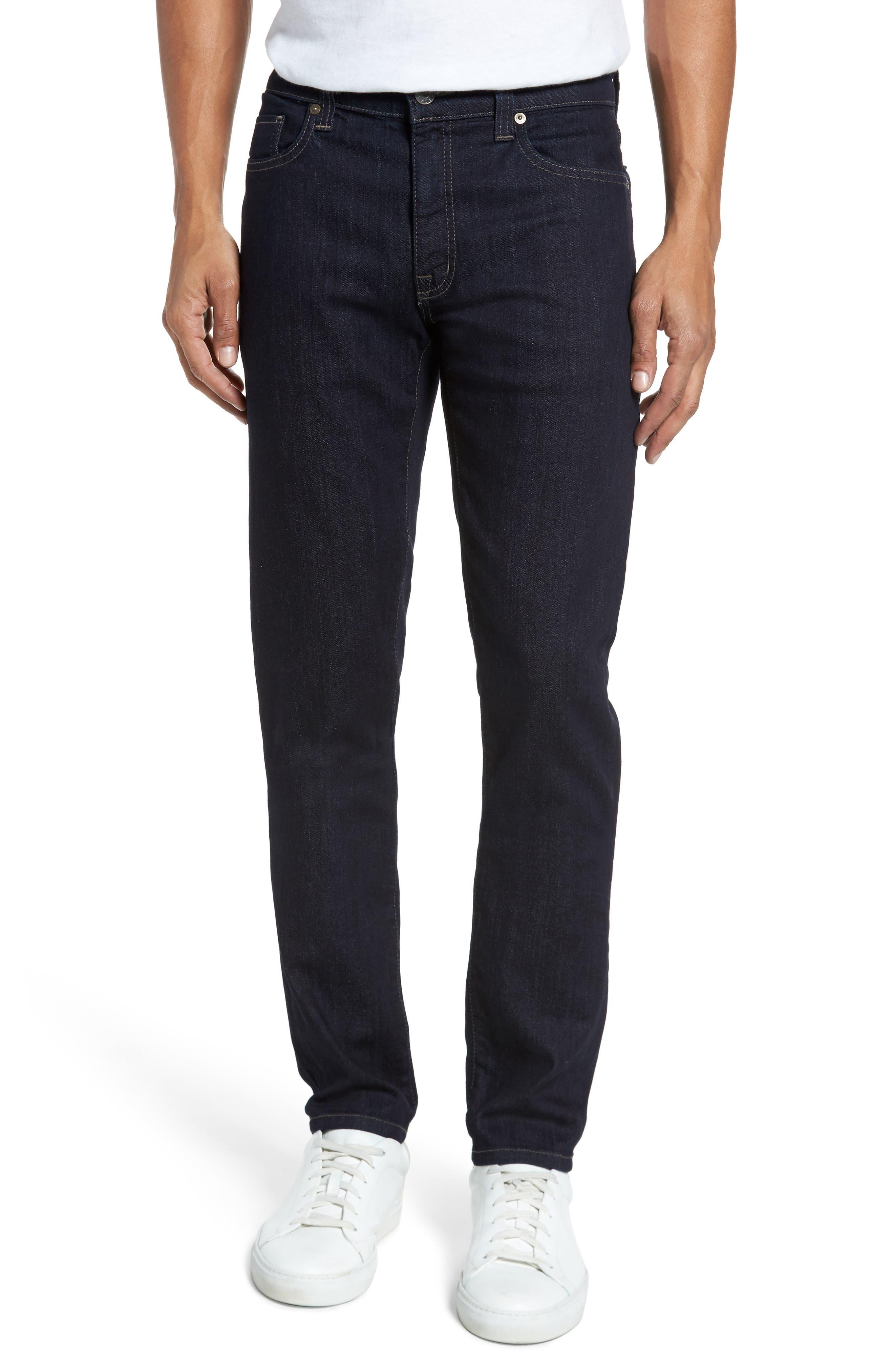 Alternate Image 1 Selected - Fidelity Denim Slim Fit Jeans (Galaxy)