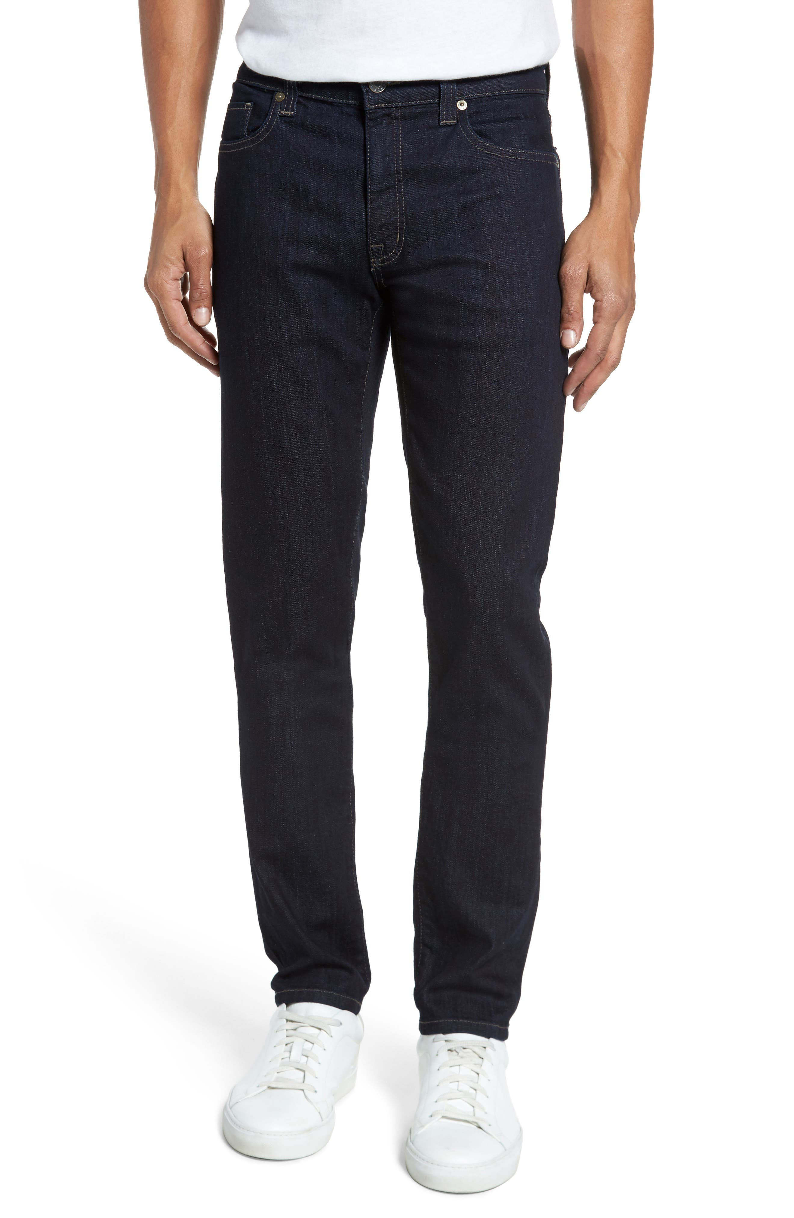 Slim Fit Jeans,                         Main,                         color, Galaxy Rinse