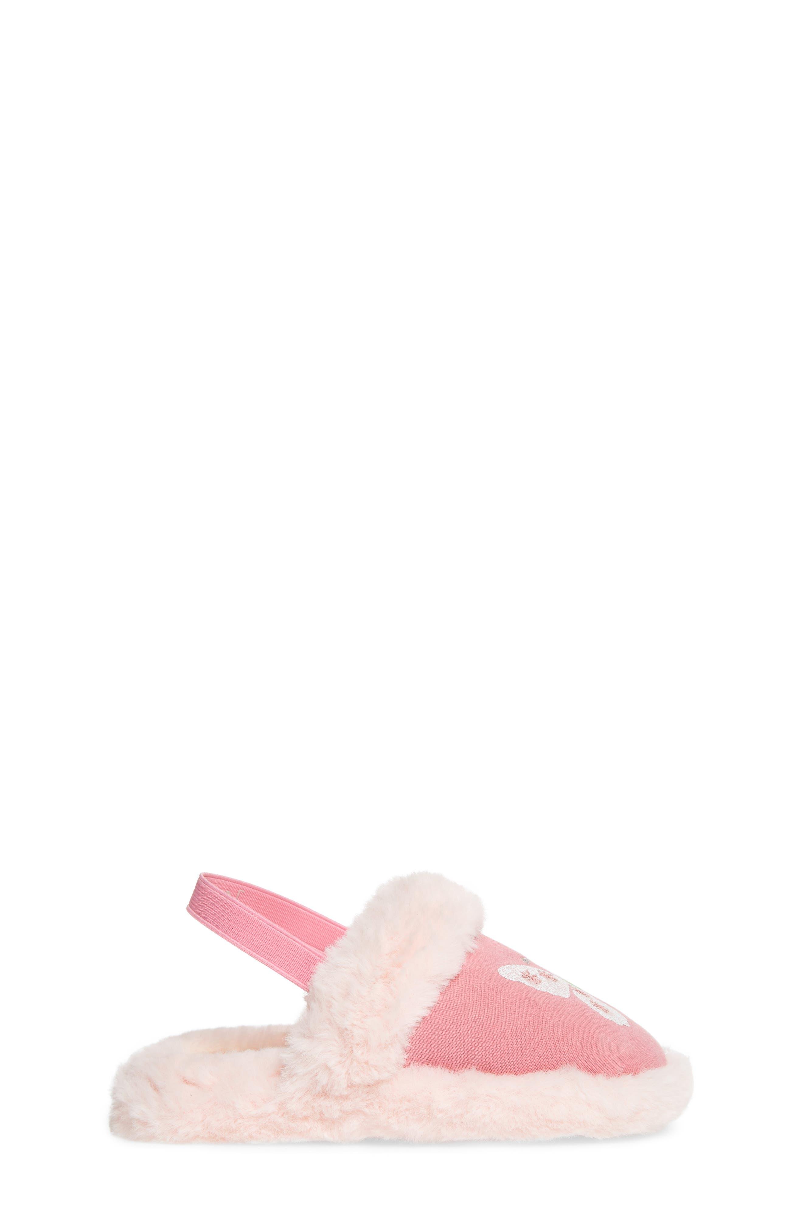 Alternate Image 3  - WellieWishers from American Girl Ashlyn Faux Fur Slipper (Walker & Toddler)