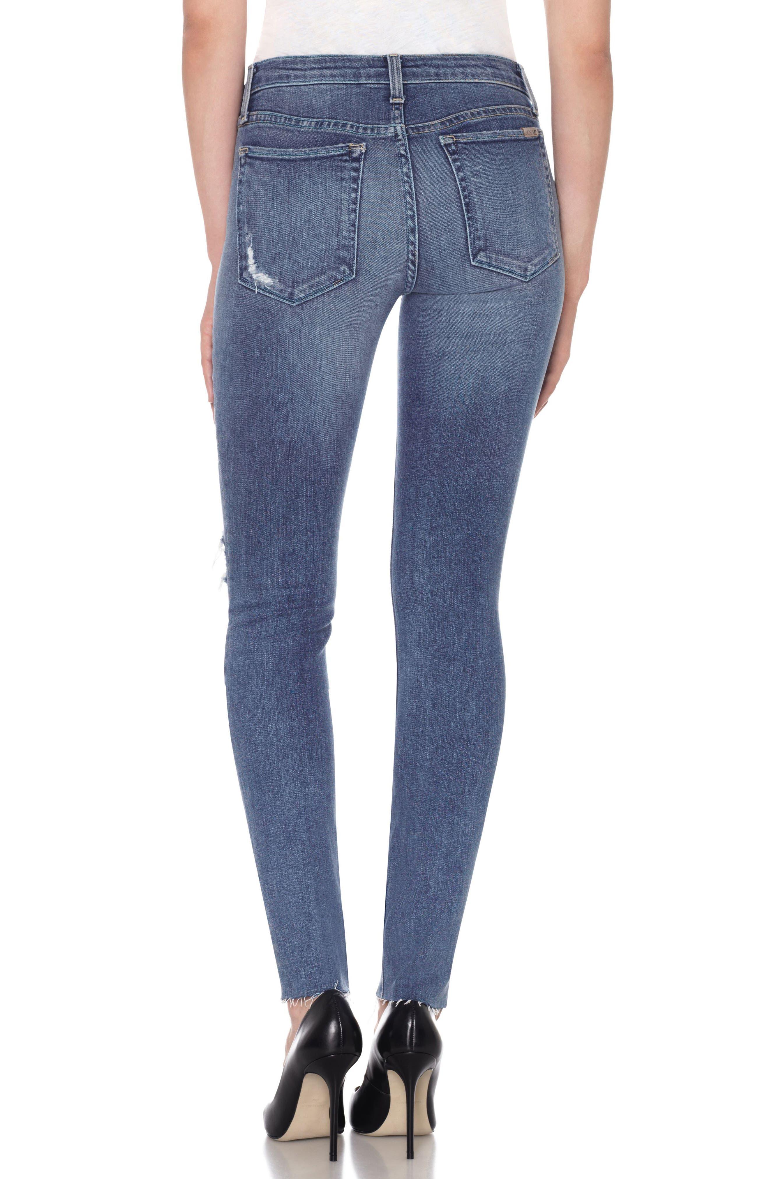 Icon High Waist Skinny Jeans,                             Alternate thumbnail 3, color,                             Kiara