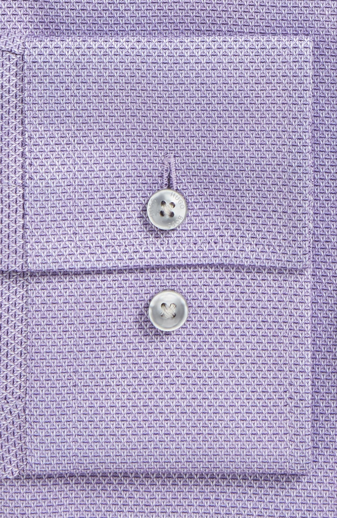 Jenno Slim Fit Textured Dress Shirt,                             Alternate thumbnail 2, color,                             Medium Purple