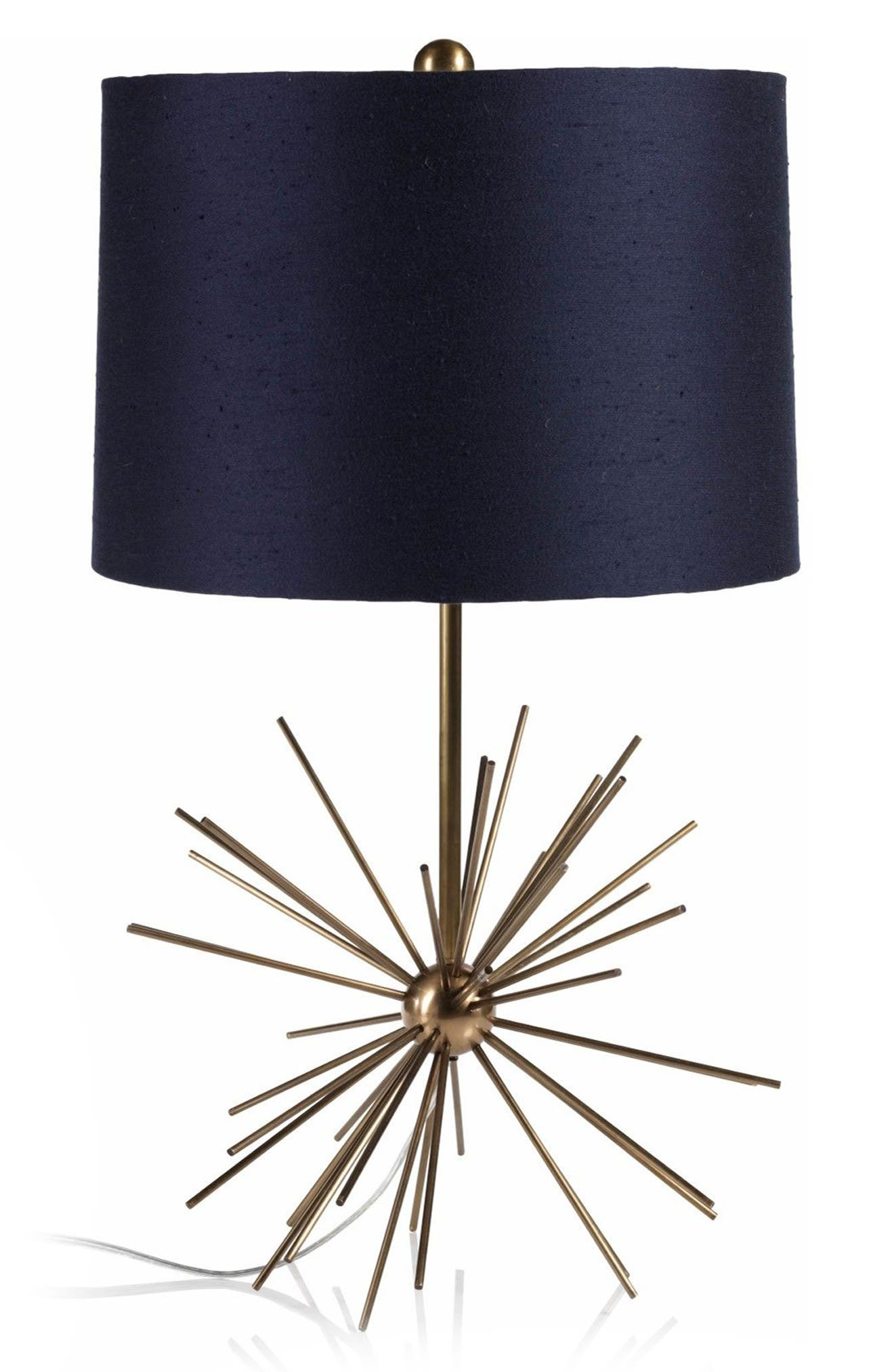 Oslo Table Lamp,                         Main,                         color, Blue/ Gold