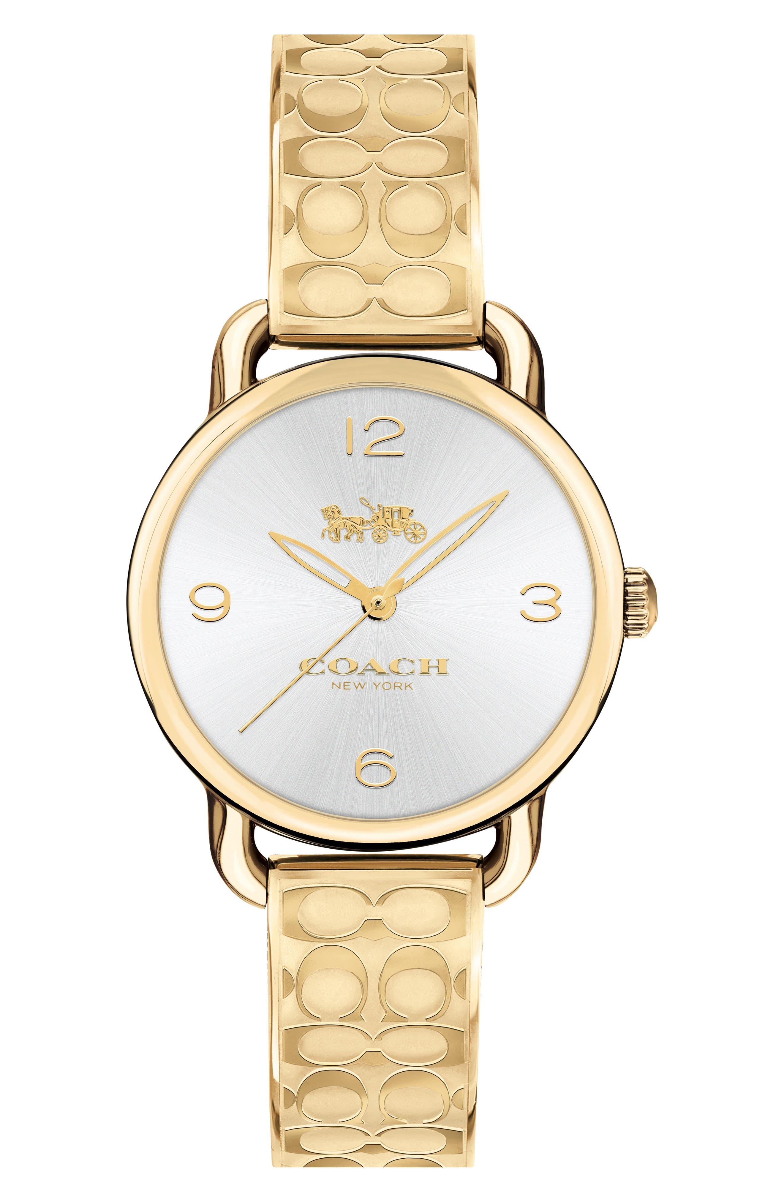 Delancey Bracelet Watch, 28mm,                         Main,                         color, Gold/ Silver/ Gold