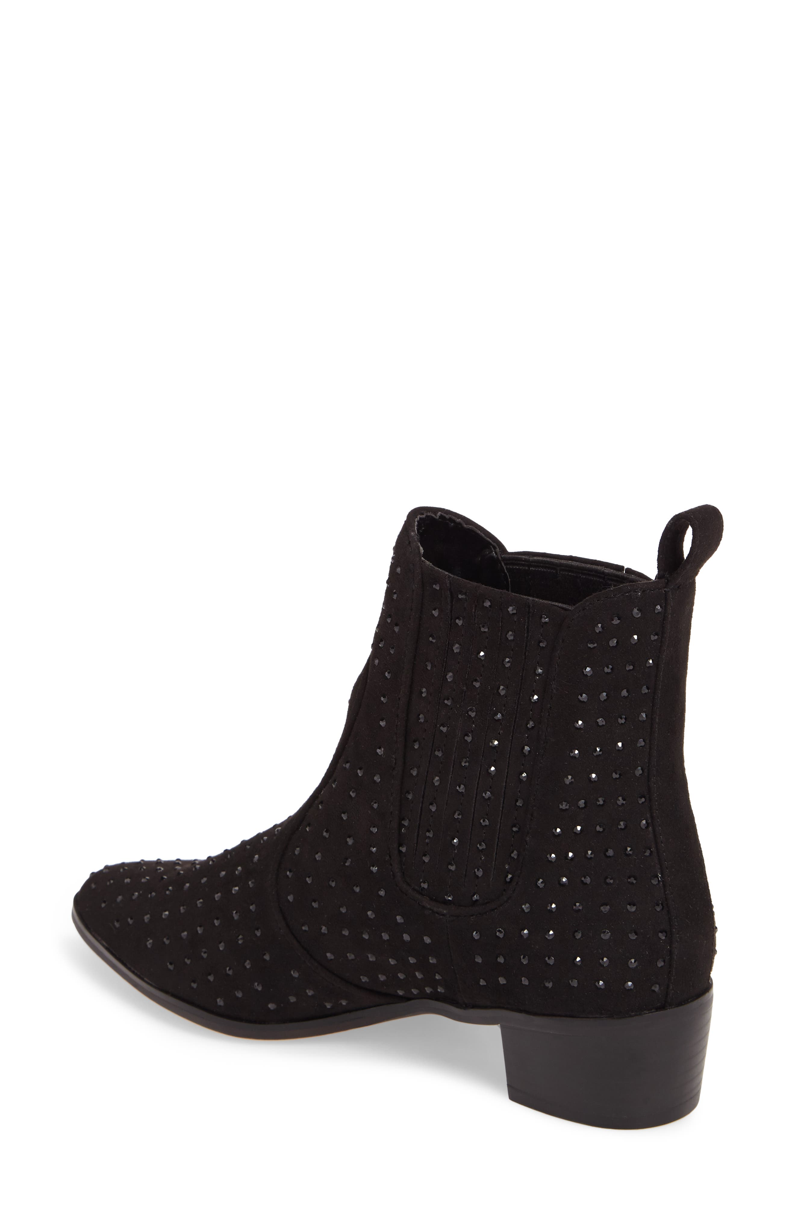Ryan Bootie,                             Alternate thumbnail 2, color,                             Black Suede