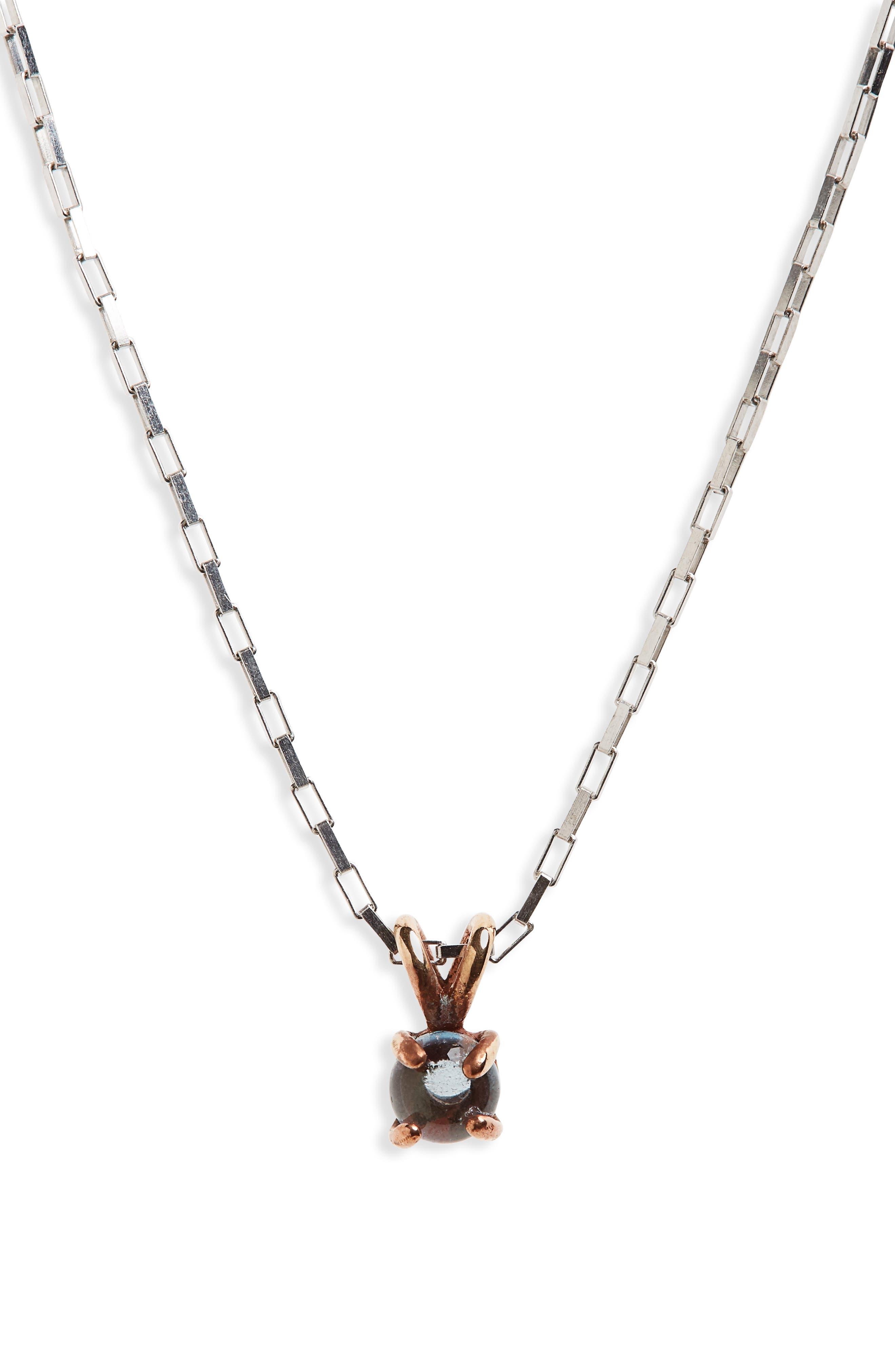 Blue Topaz Pendant Necklace,                         Main,                         color, London Blue Topaz