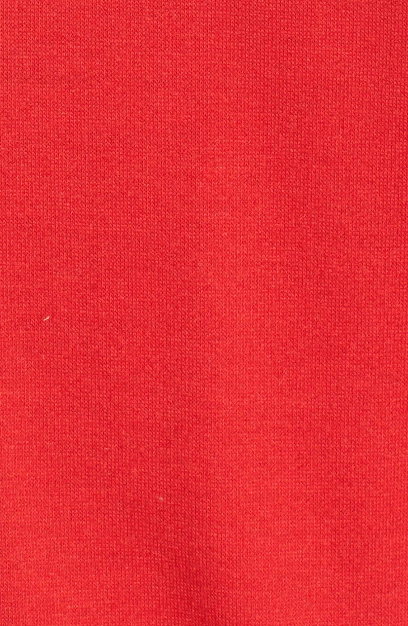 Oh Snap Sweatshirt,                             Alternate thumbnail 5, color,                             Red