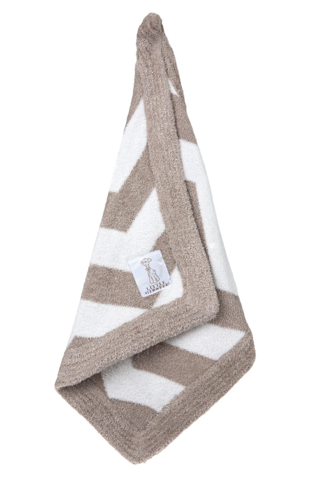 Main Image - Little Giraffe Dolce Chenille Blanket