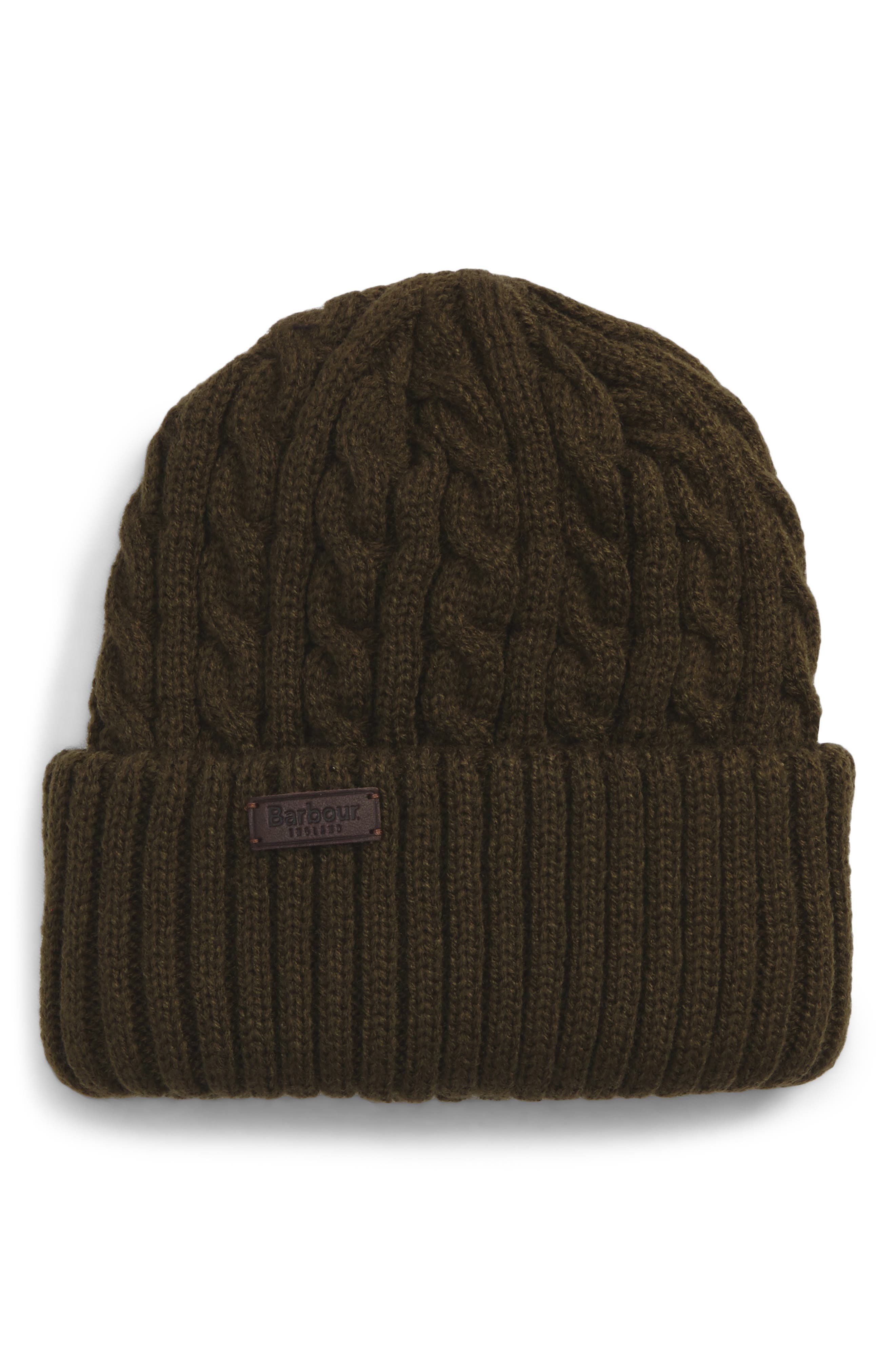 Barbour Balfron Cable Knit Beanie