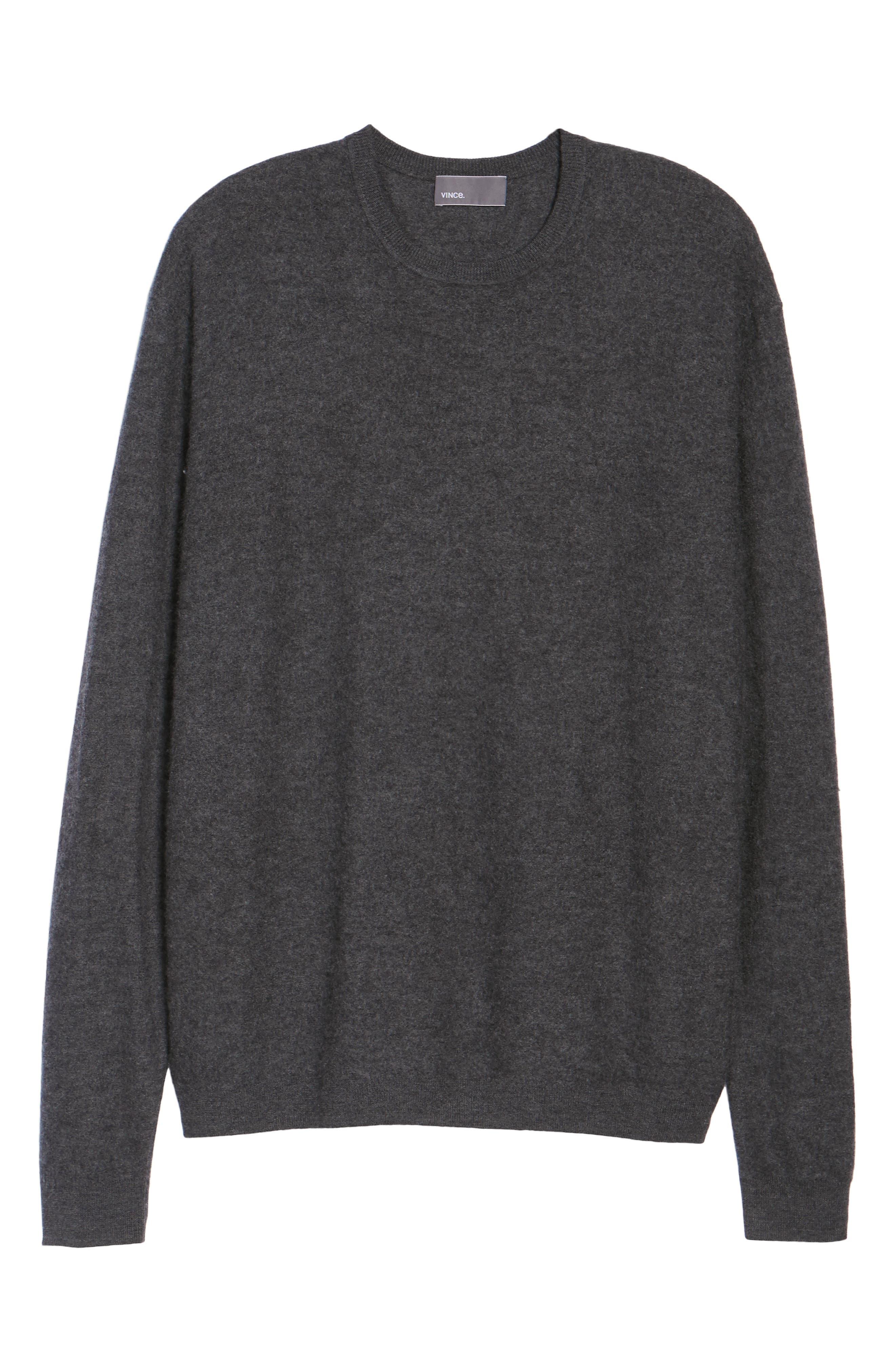 Alternate Image 10  - Vince Cashmere Crewneck Sweater