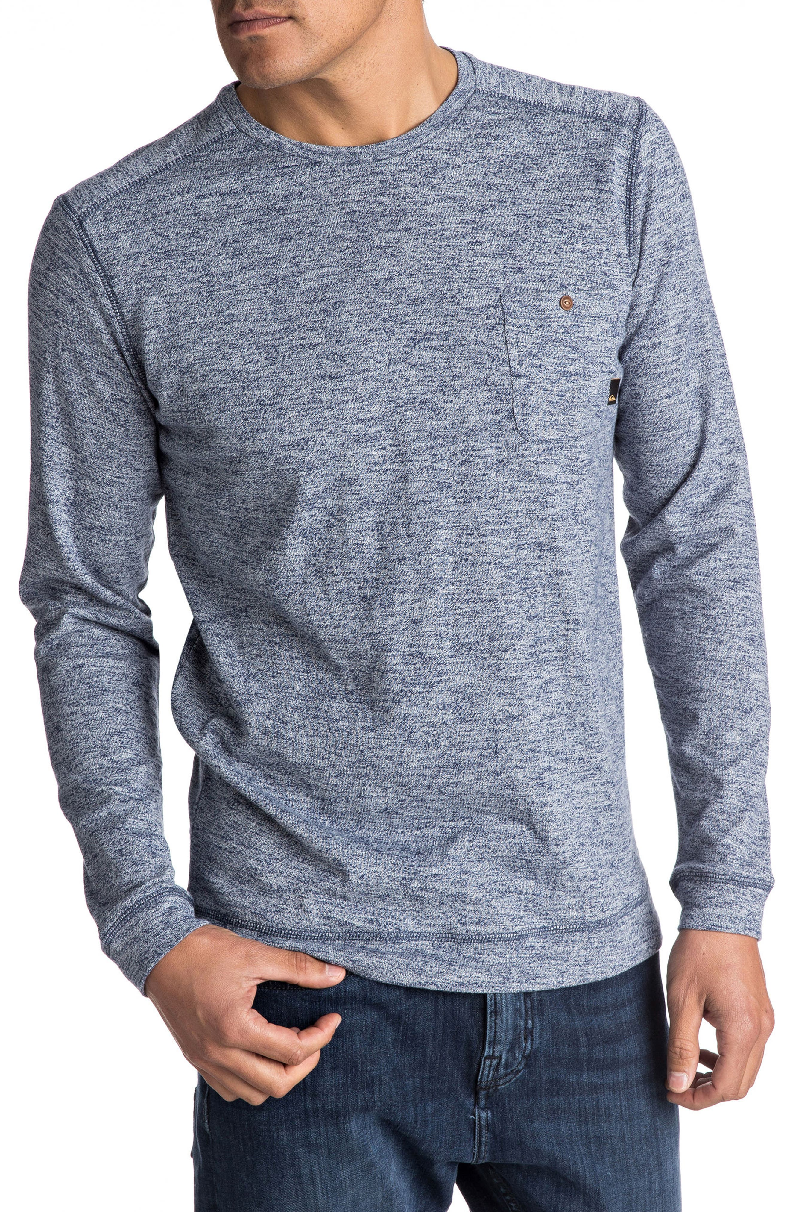 Alternate Image 1 Selected - Quiksilver Lindow Marled Sweater